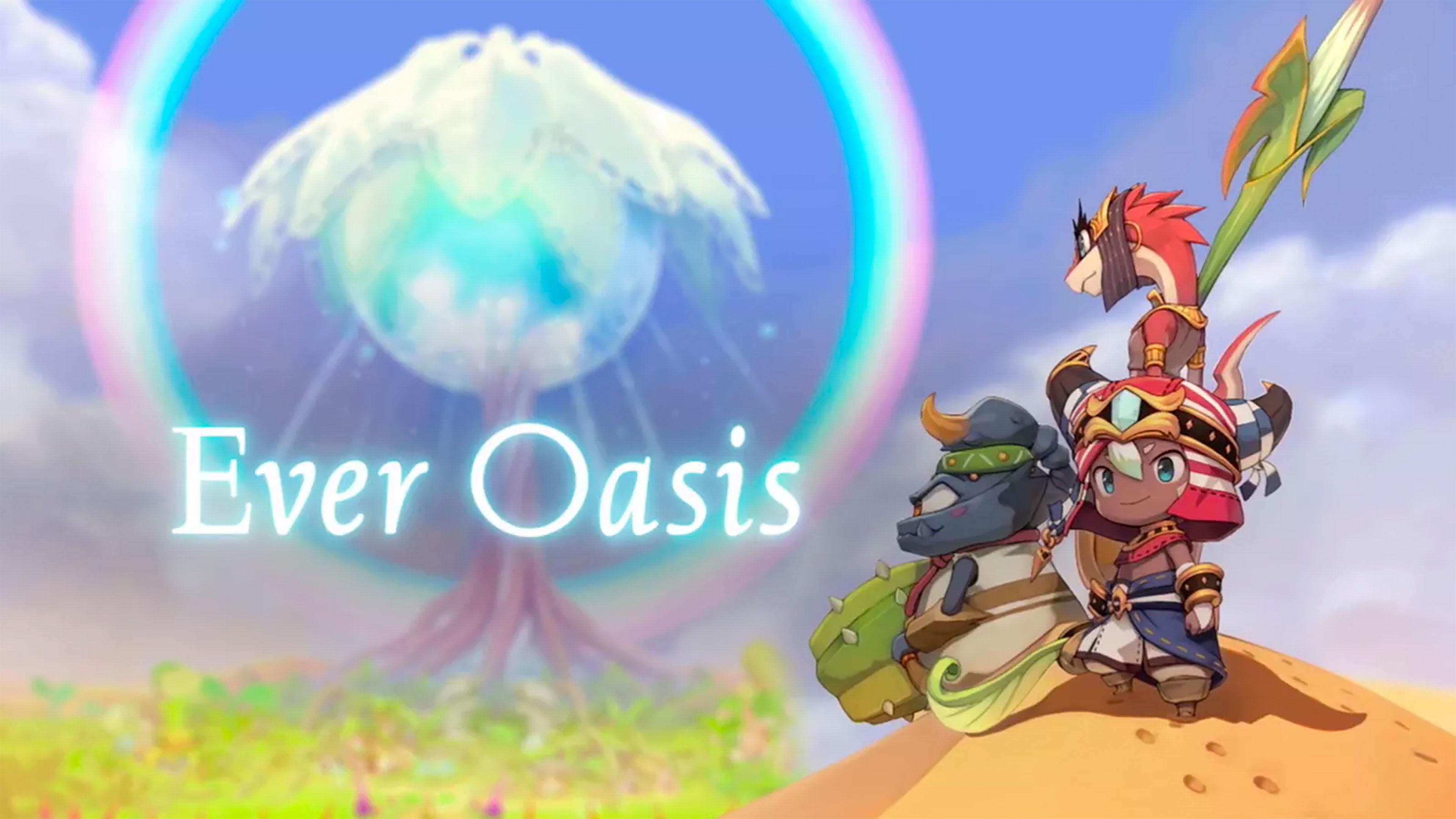 Res: 3840x2160, Ever Oasis 4K Wallpaper ...