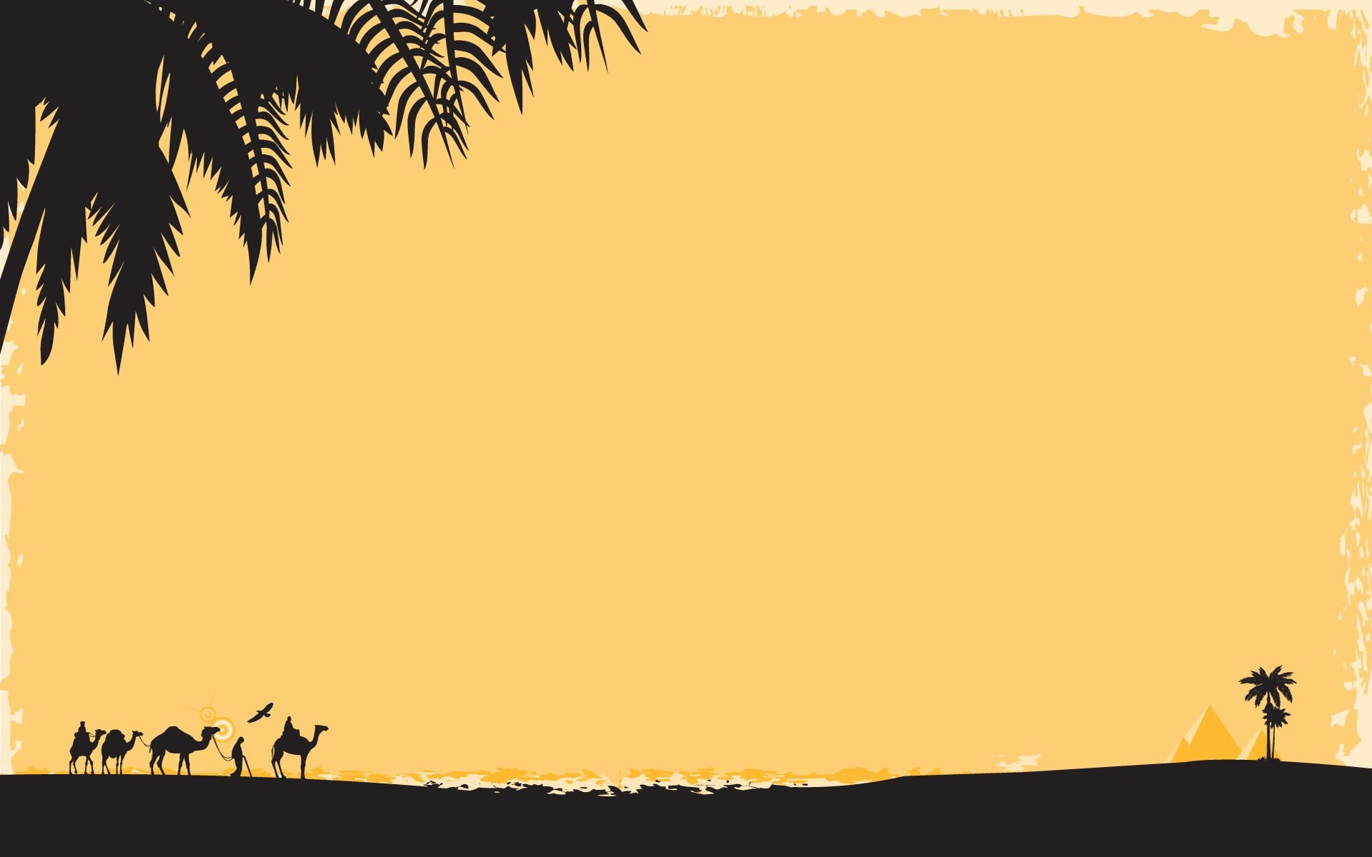 Res: 1920x1200, Deserts silhouettes Egypt oasis wallpaper |  | 296920 | WallpaperUP