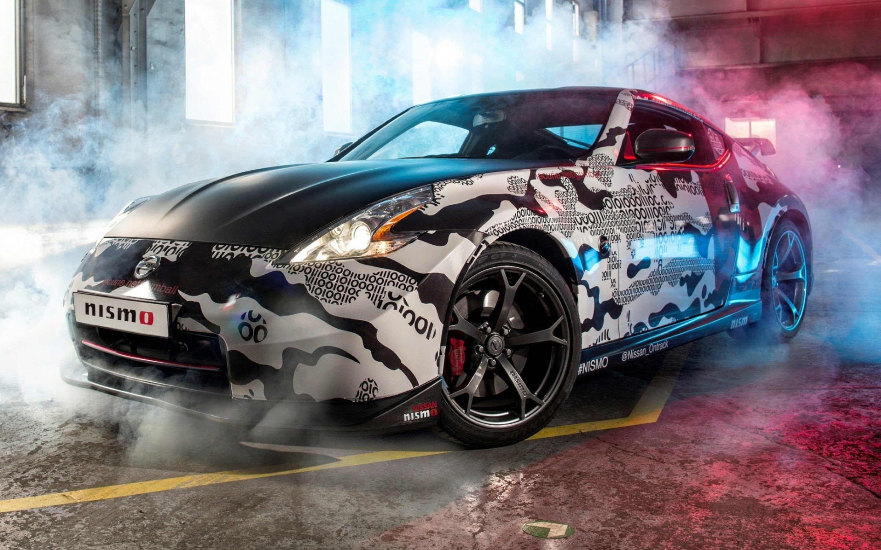 Res: 2880x1800, Nissan 370Z NISMO Front 4k HD Wallpaper