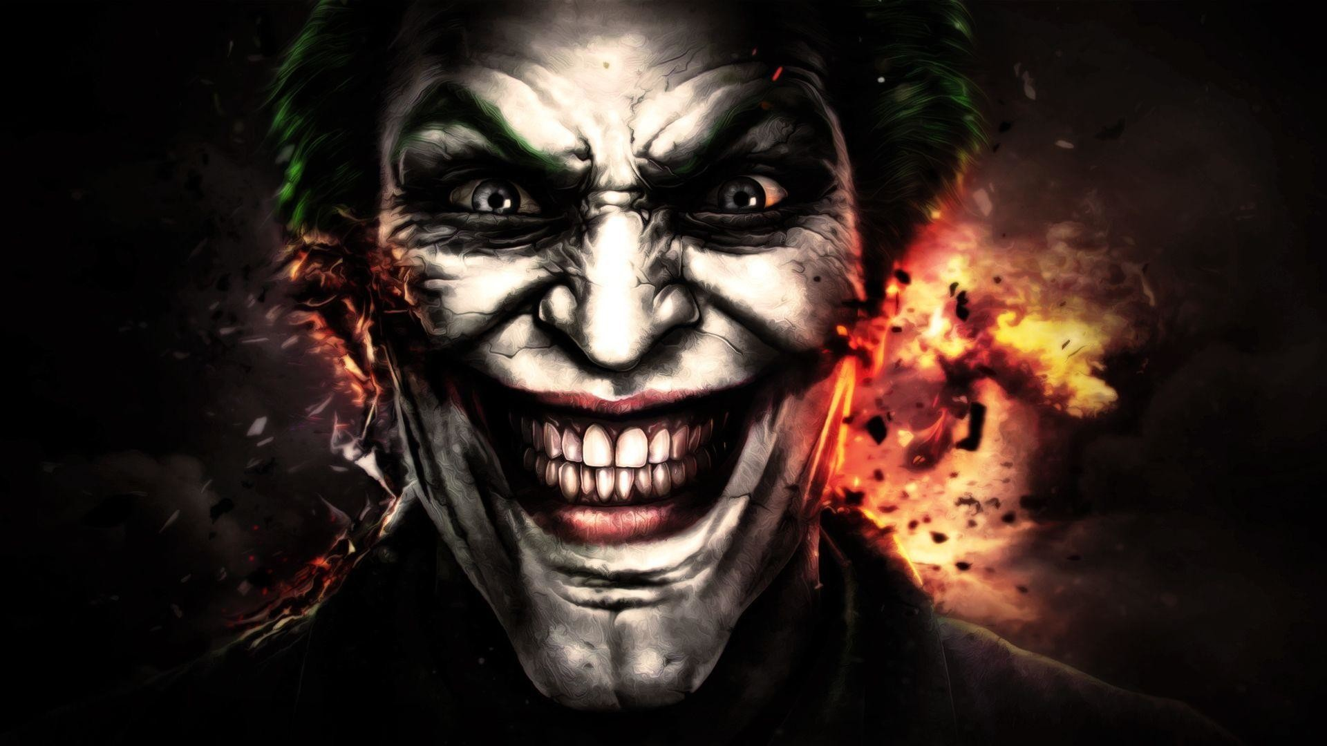 Res: 1920x1080, Wallpapers Movie Scary Face Joker
