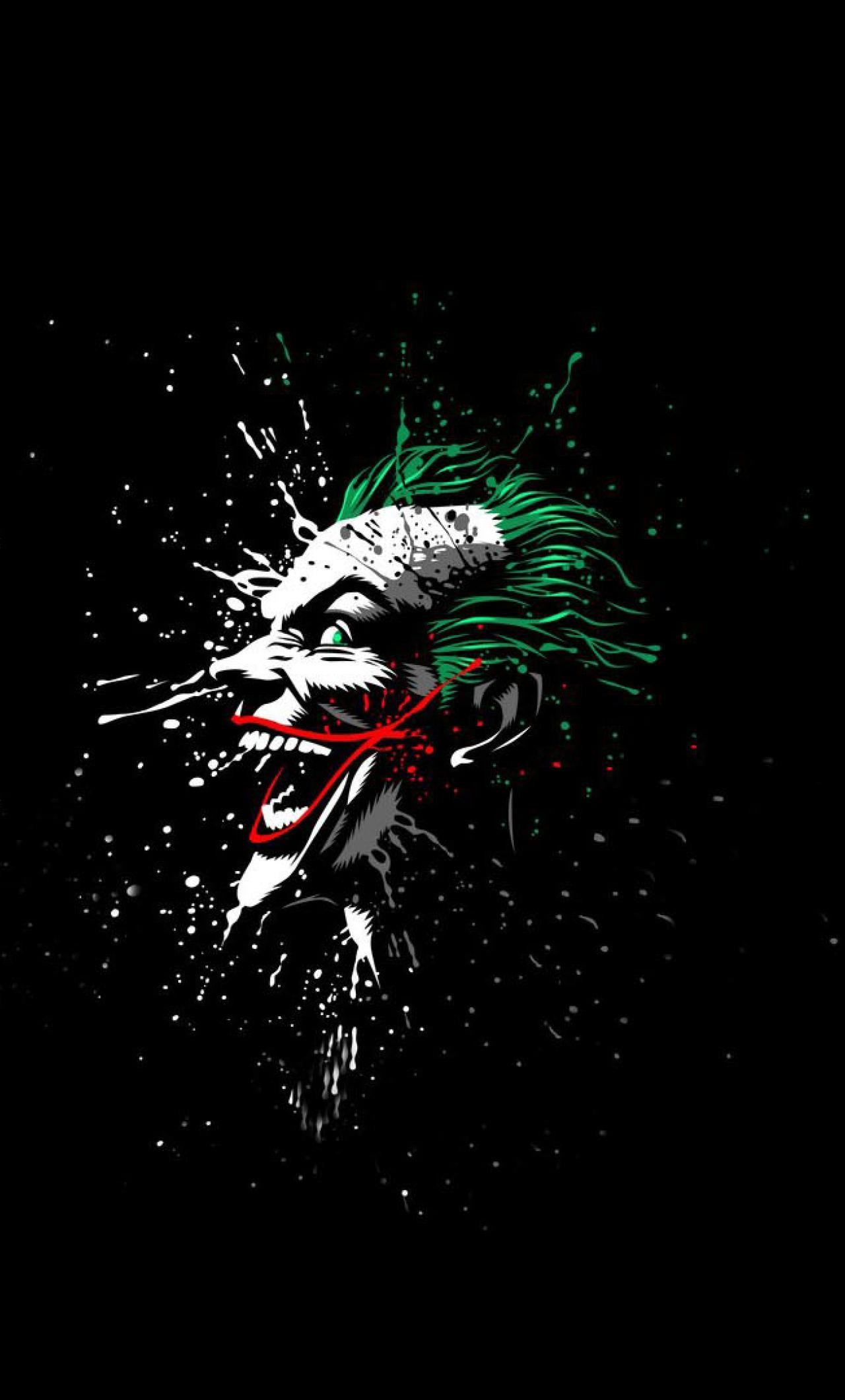 Res: 1280x2120,  Download Joker Artwork 1024x600 Resolution, Full HD Wallpaper