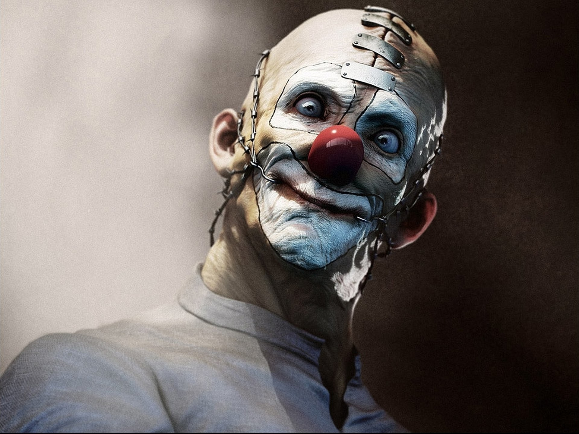 Res: 1920x1440, evil clown wallpaper #244277
