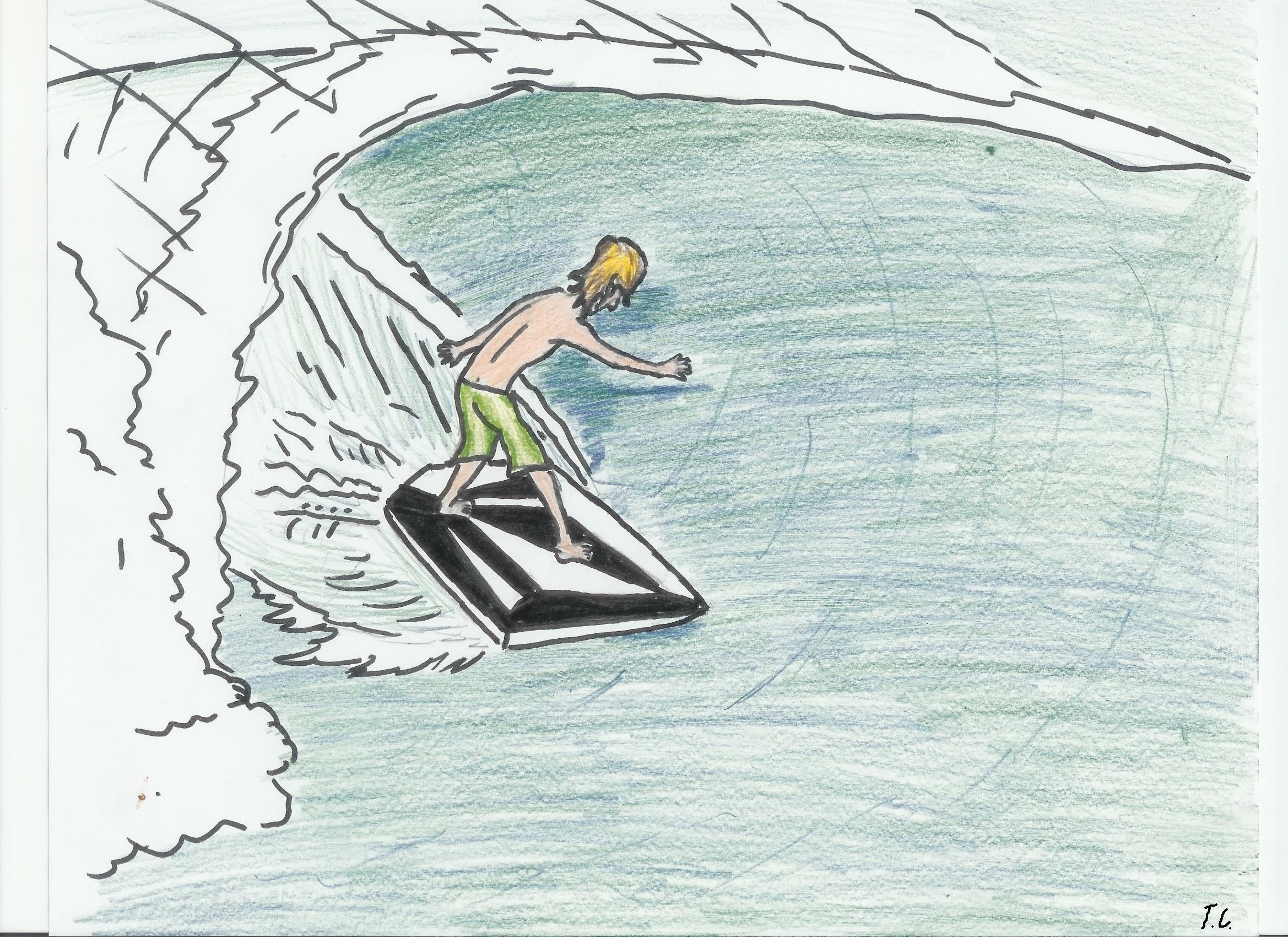 Res: 2338x1700, For Volcom by SurfArtist For Volcom by SurfArtist