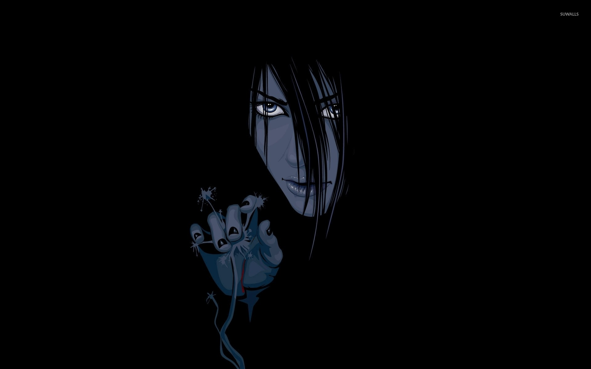 Res: 1920x1200, Orochimaru appearingfrom the darkness - Naruto wallpaper