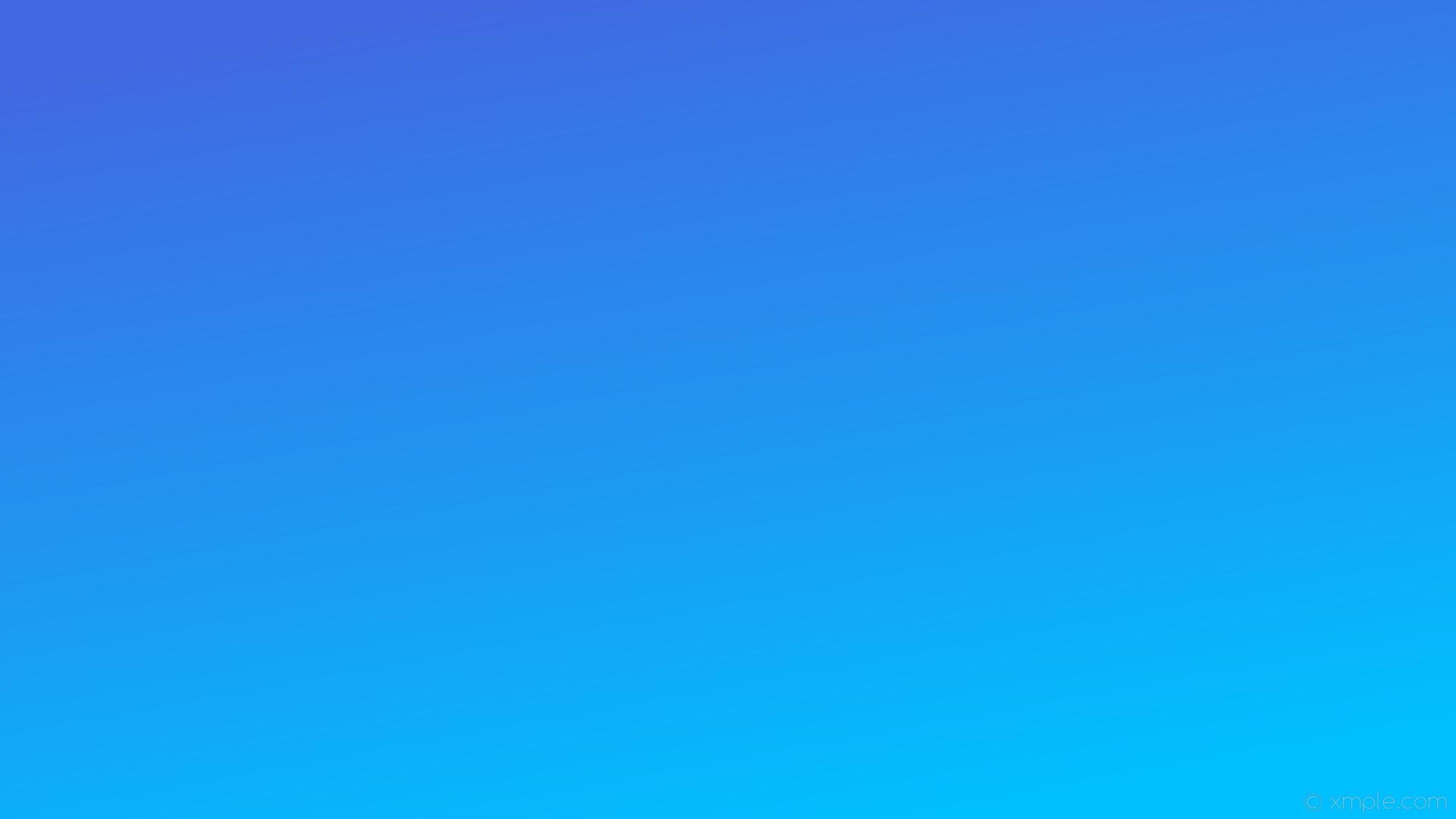 Res: 1920x1080, wallpaper blue gradient linear deep sky blue royal blue #00bfff #4169e1 300°