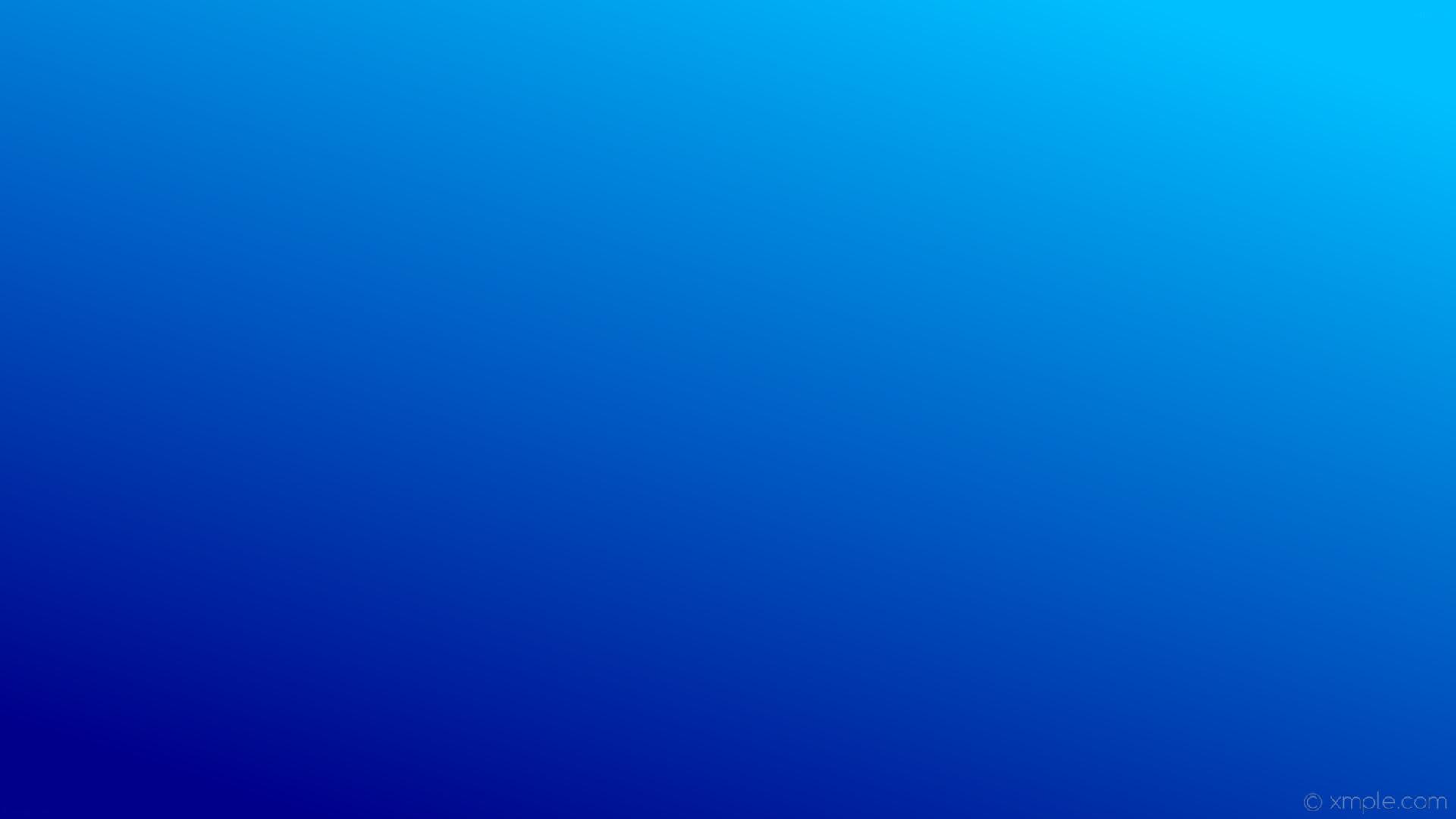 Res: 1920x1080, wallpaper linear blue gradient dark blue deep sky blue #00008b #00bfff 225°