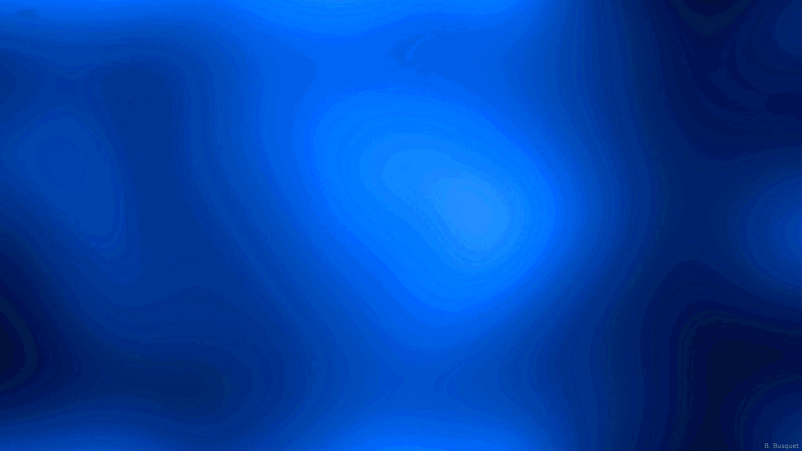 Res: 2560x1440, Blue gradient wallpaper