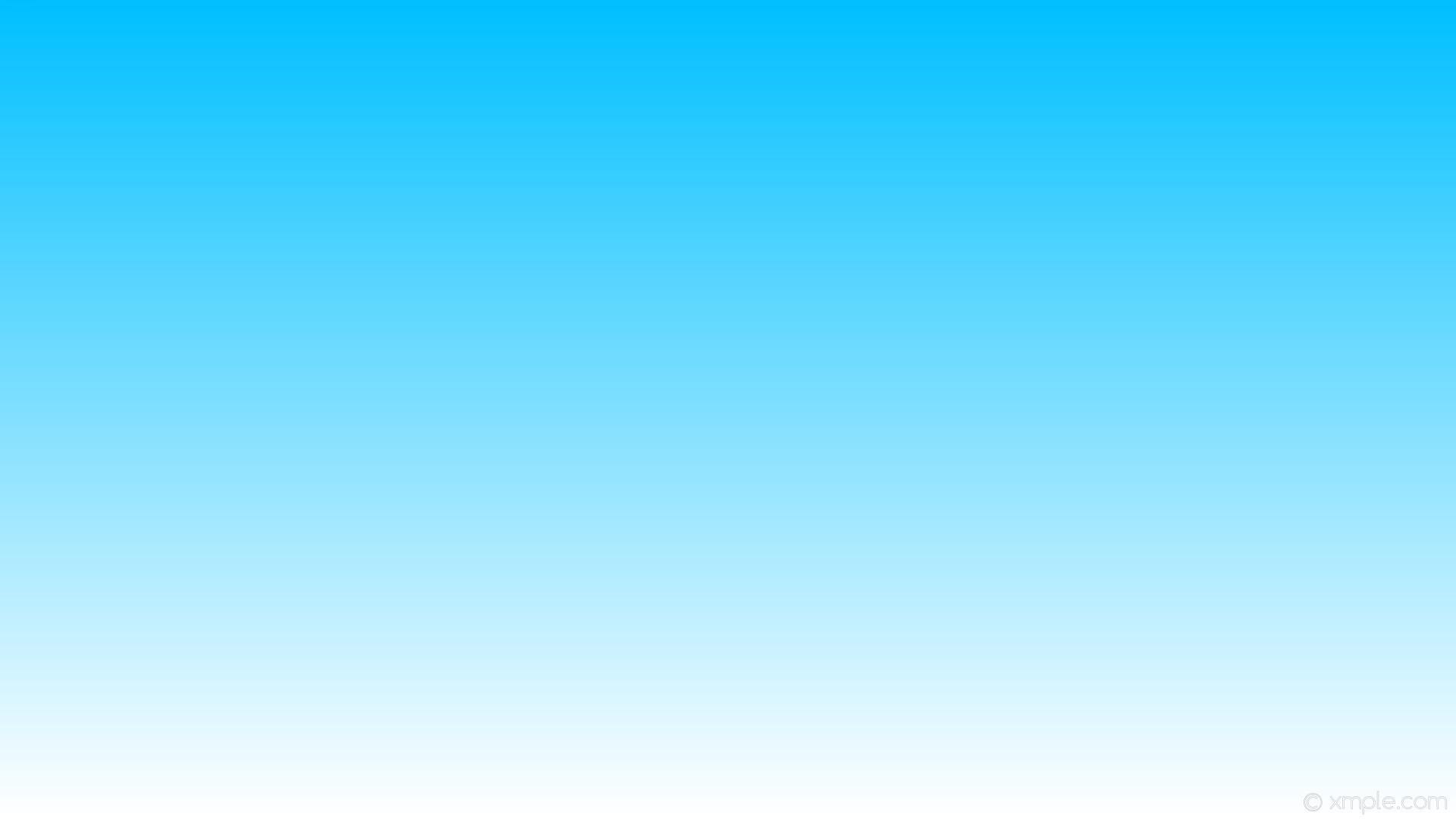 Res: 1920x1080, wallpaper white blue gradient linear deep sky blue #ffffff #00bfff 270°