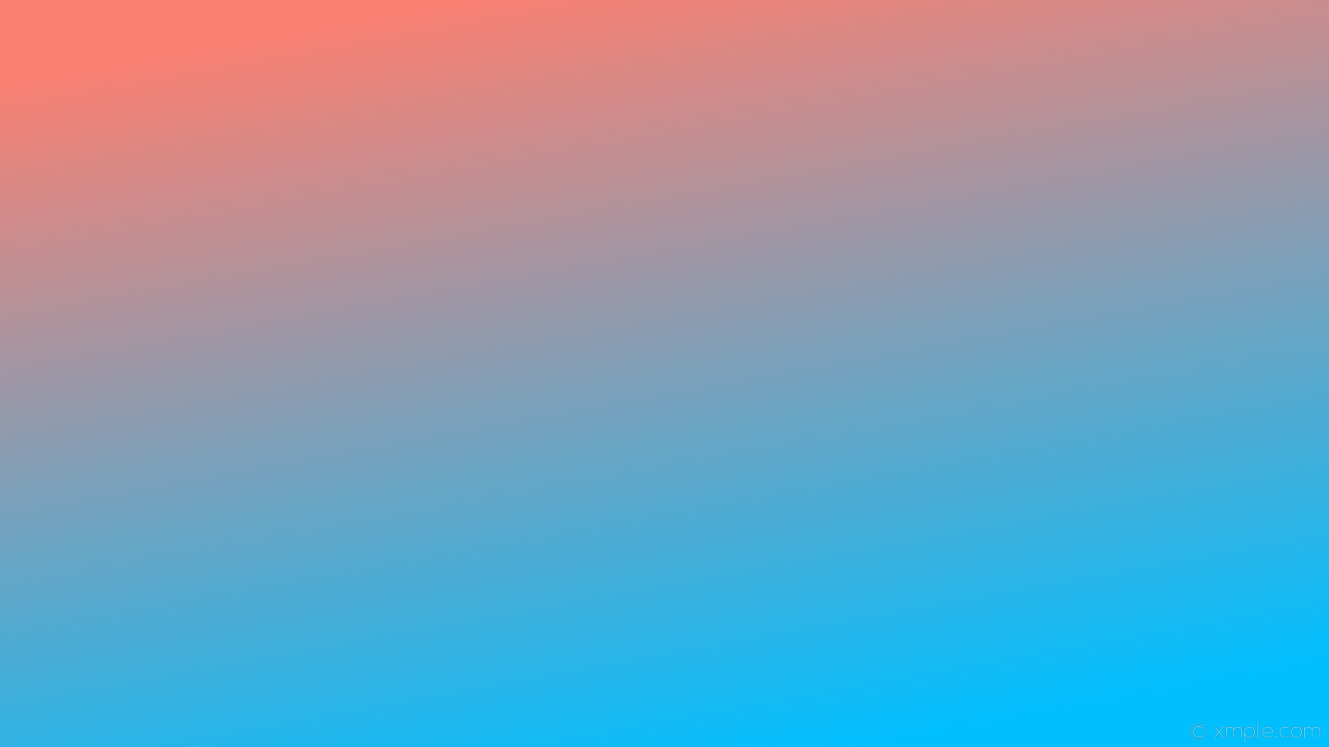 Res: 1920x1080, wallpaper red linear blue gradient salmon deep sky blue #fa8072 #00bfff 120°