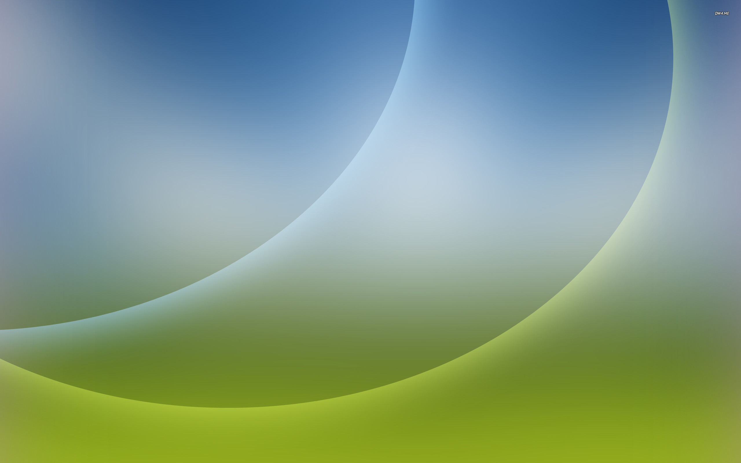 Res: 2560x1600, Curves on a gren and blue gradient