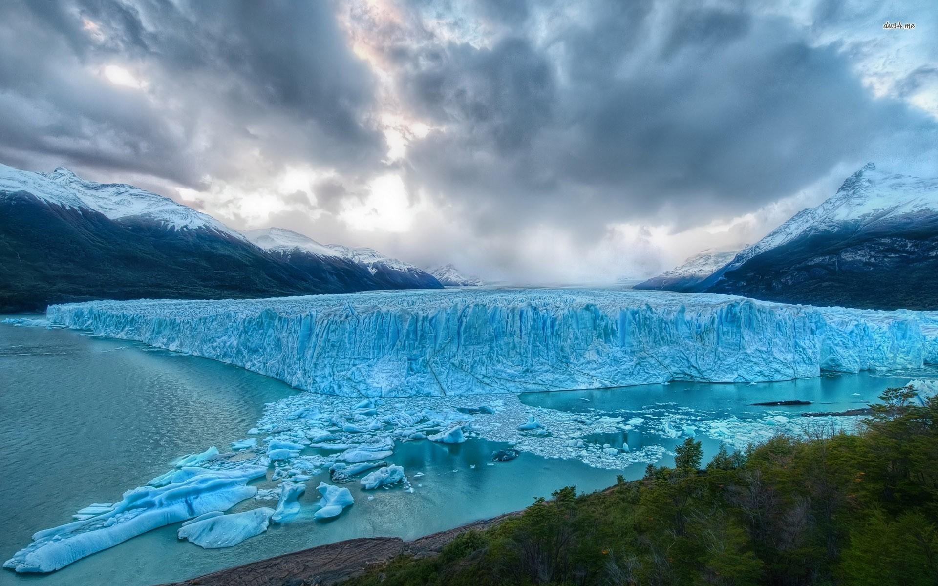 Res: 1920x1200, Glacier Wallpaper