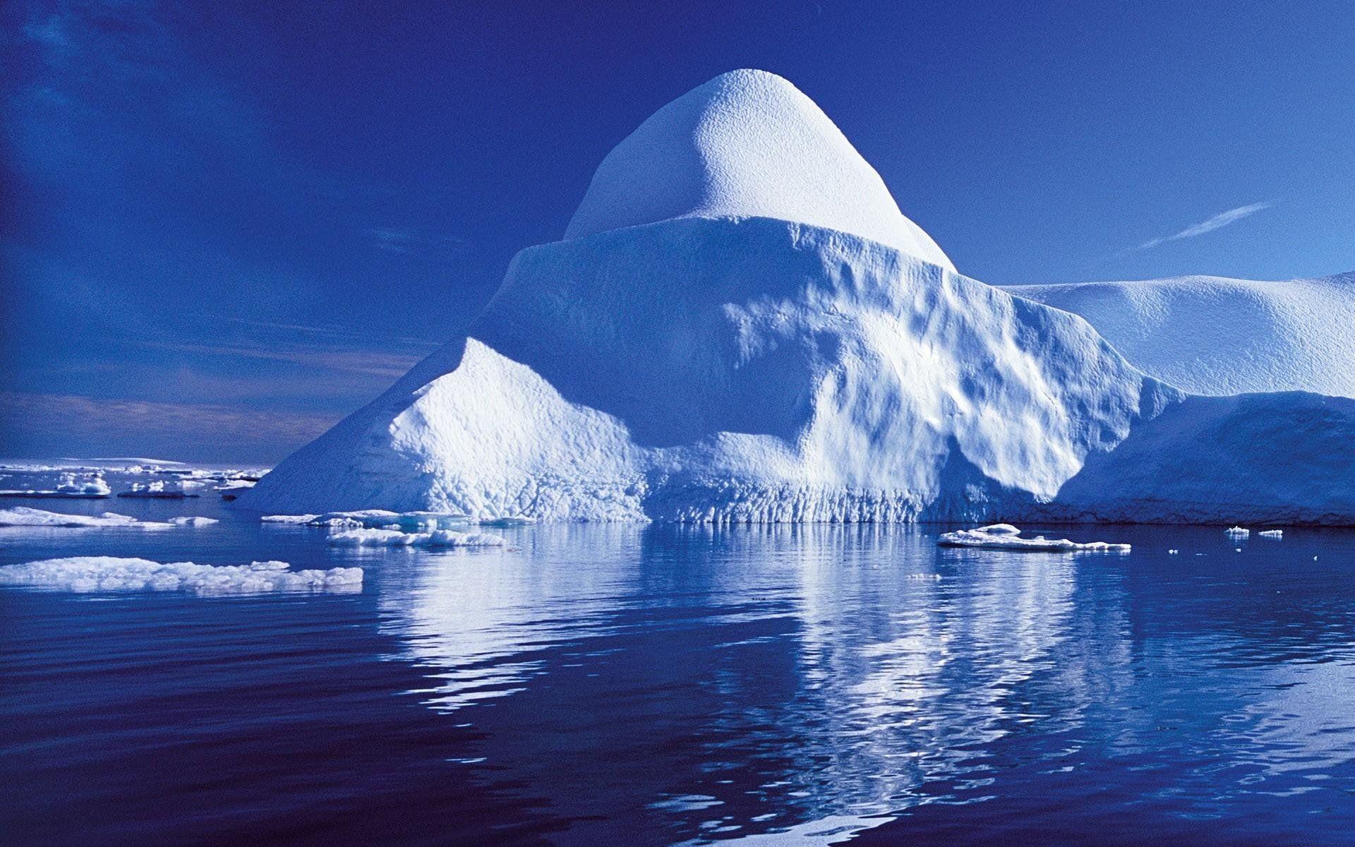 Res: 1920x1200, Blue Ice Glacier Wallpaper