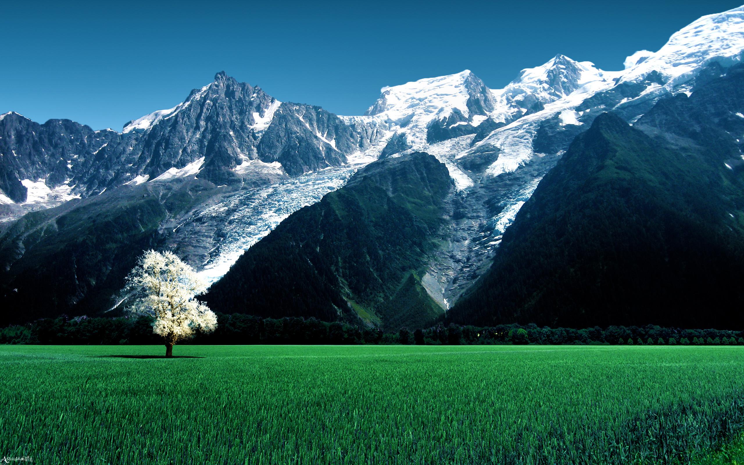 Res: 2560x1600, Glacier Wallpaper 26 - 2560 X 1600