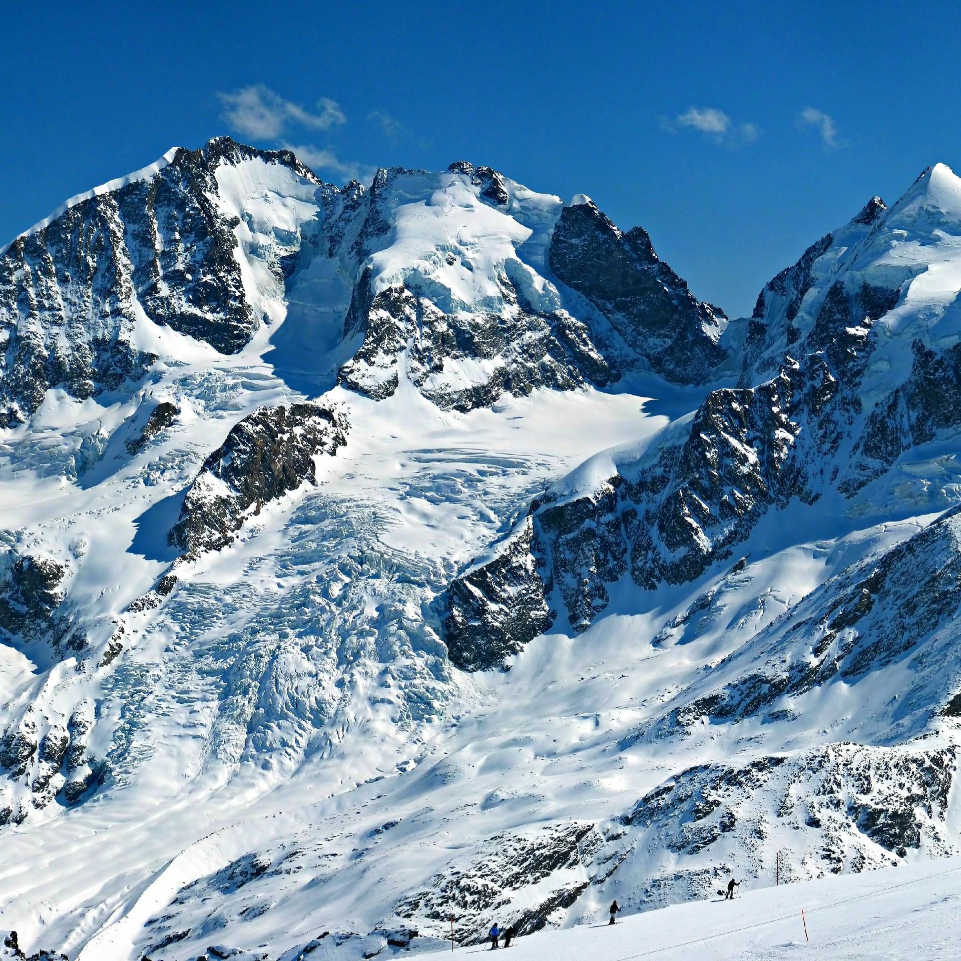 Res: 1920x1920, Swiss Alps Glacier wallpaper 1920×1920