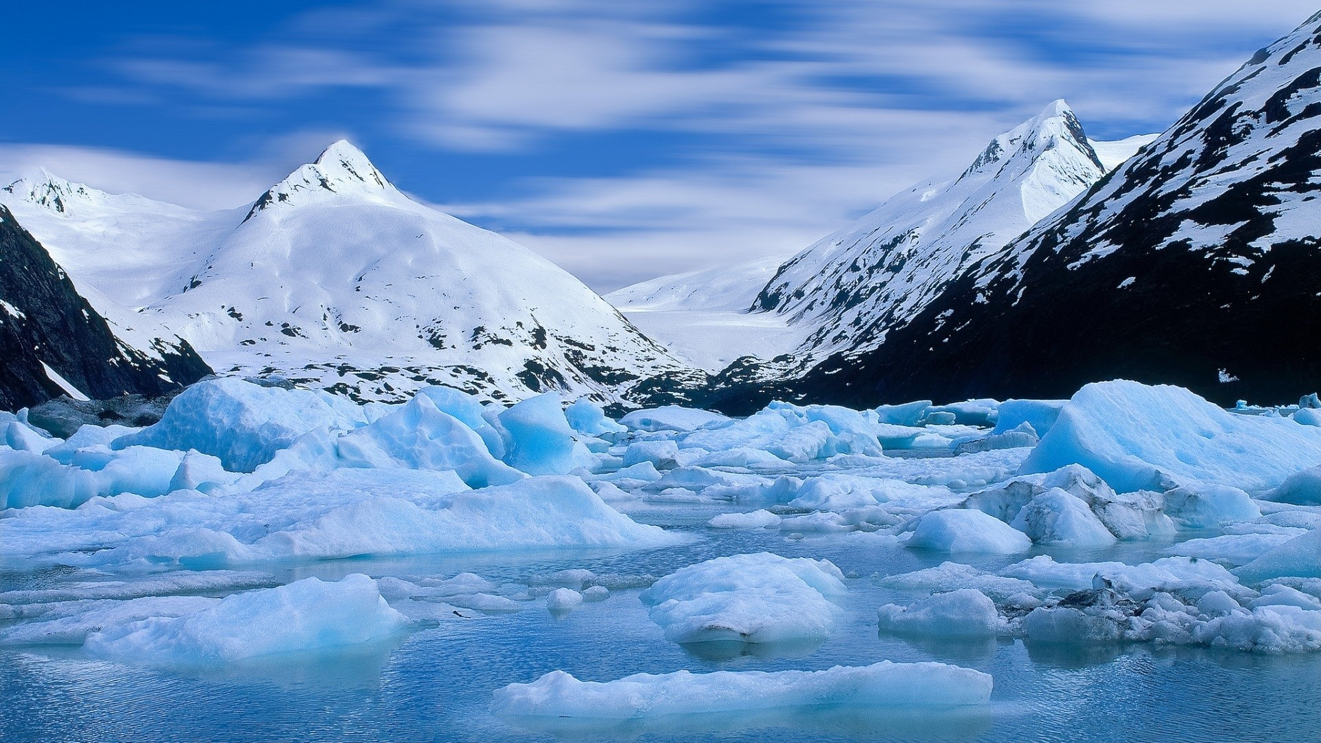 Res: 1920x1080, Alaska Winter Glacier   1920 x 1080 ...