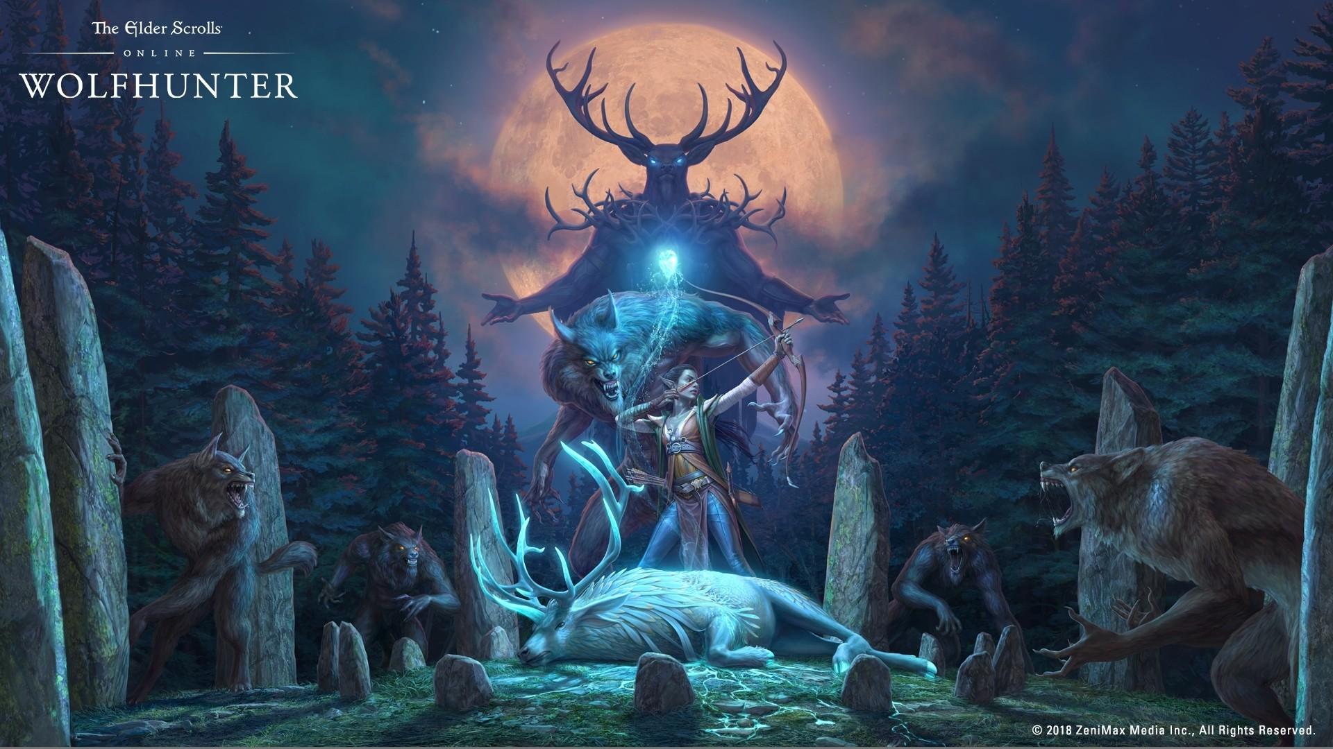 Res: 1920x1080, The Elder Scrolls Online: Wolfhunter