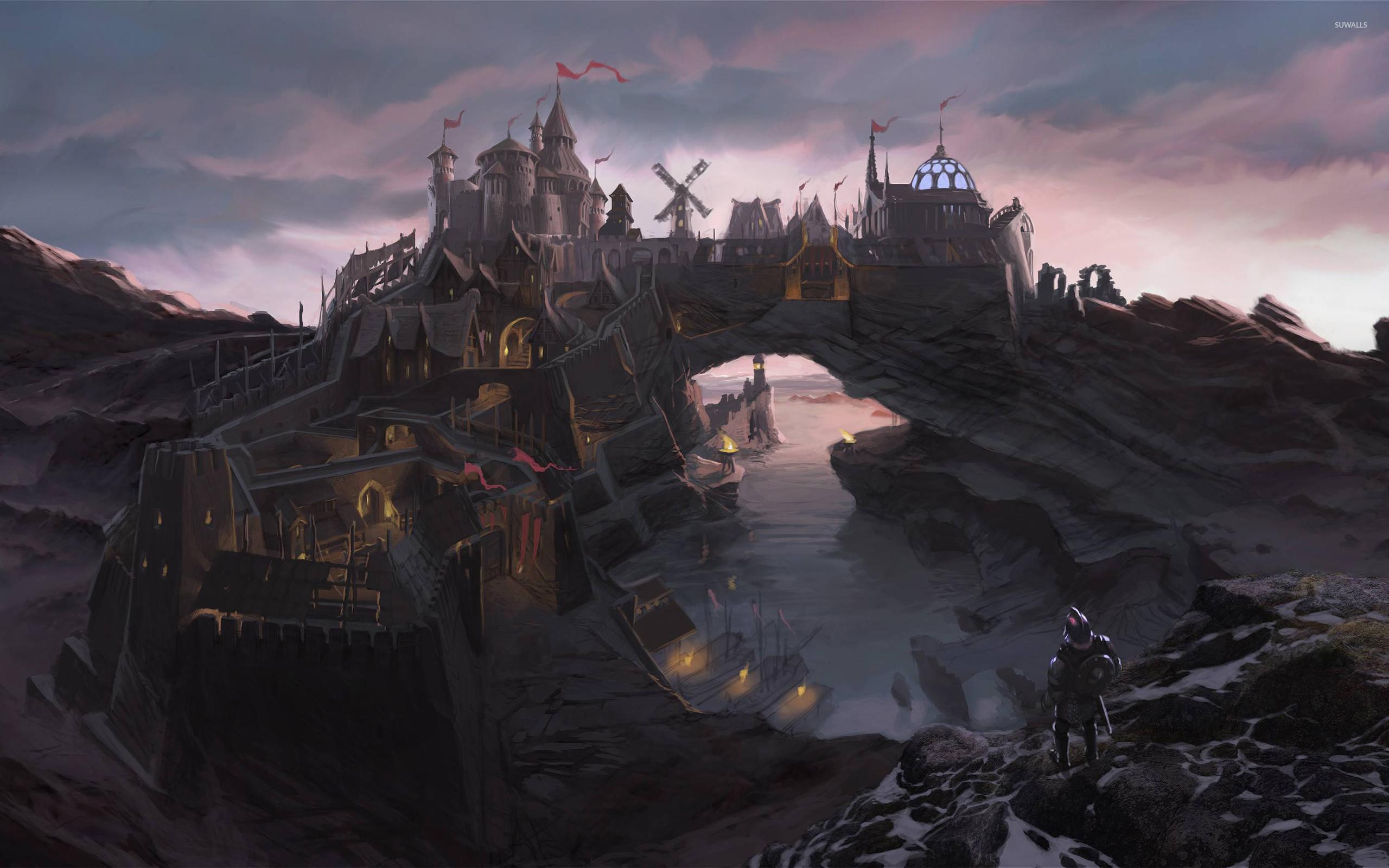 Res: 2560x1600, The Elder Scrolls V: Skyrim [3] wallpaper