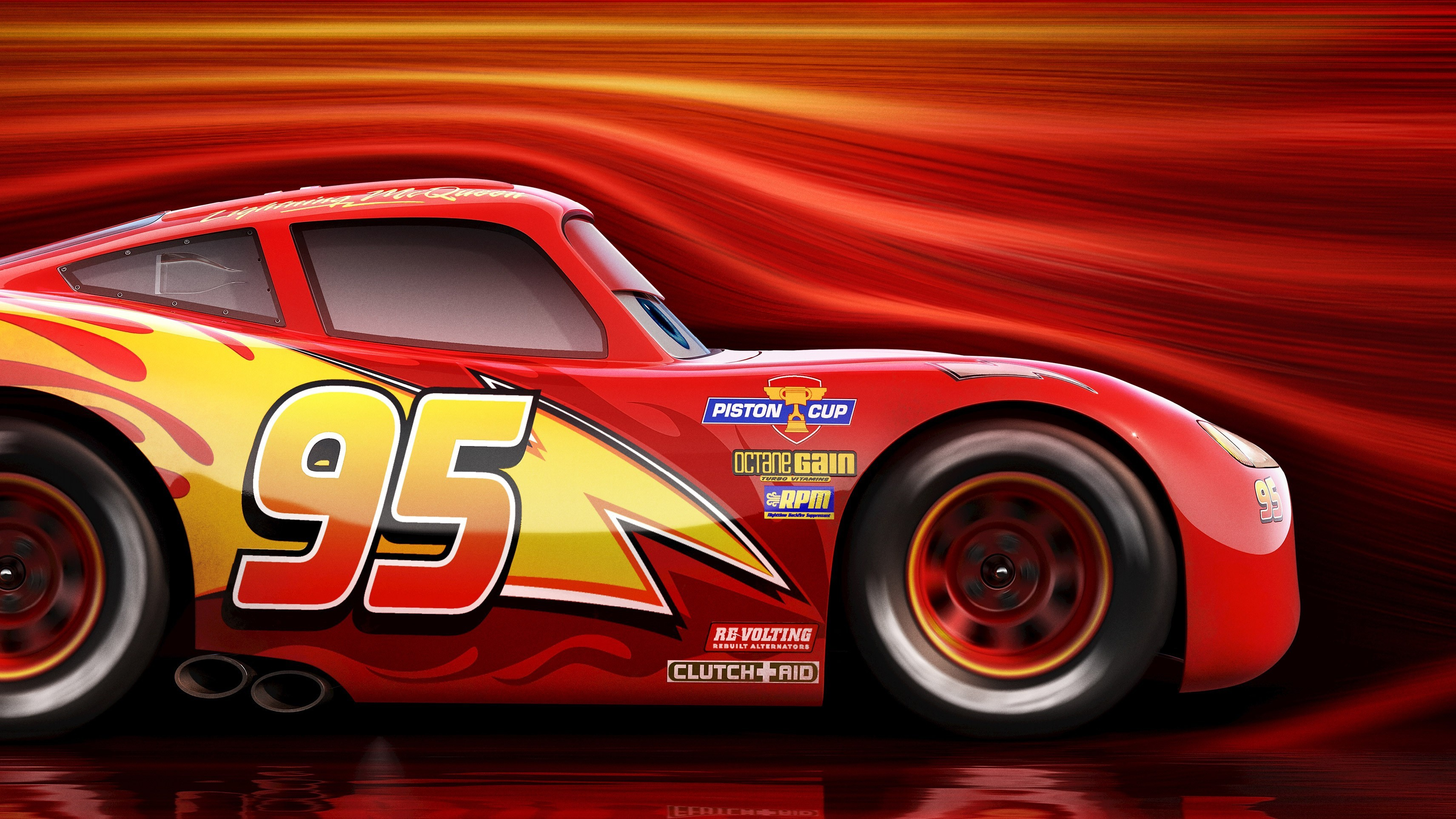 Res: 3423x1926, Jackson Storm Lightning McQueen · HD Wallpaper | Background Image ID:811715