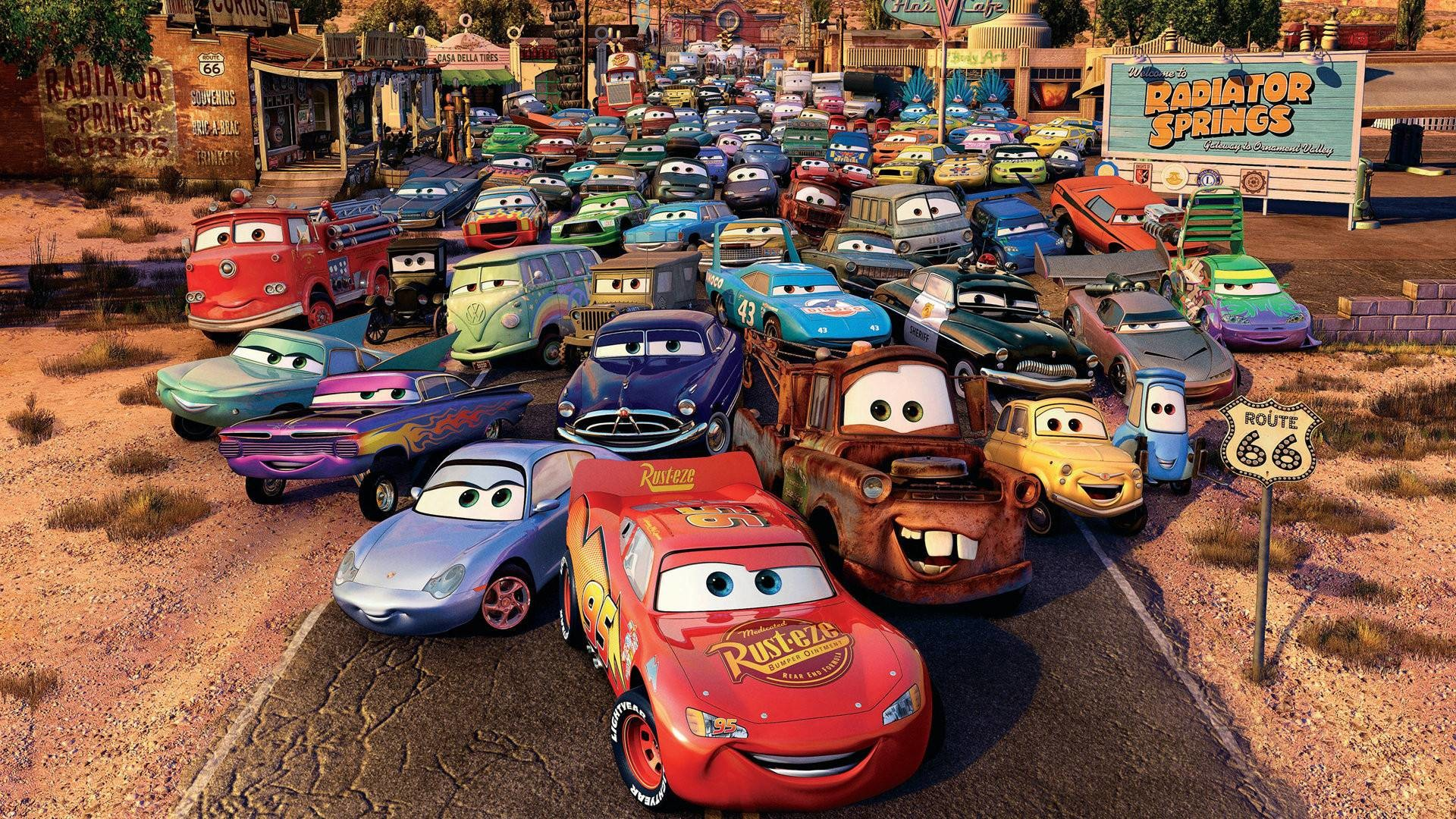 Res: 1920x1080, Lightning Mcqueen And Mater Cars X Wallpaper With  .