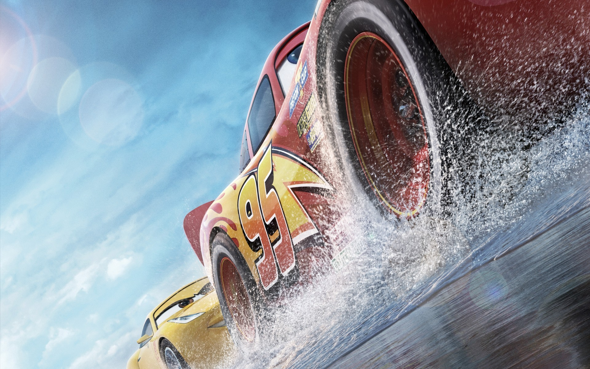 Res: 1920x1200, Cars 3, Animation, Lightning Mcqueen, Pixar