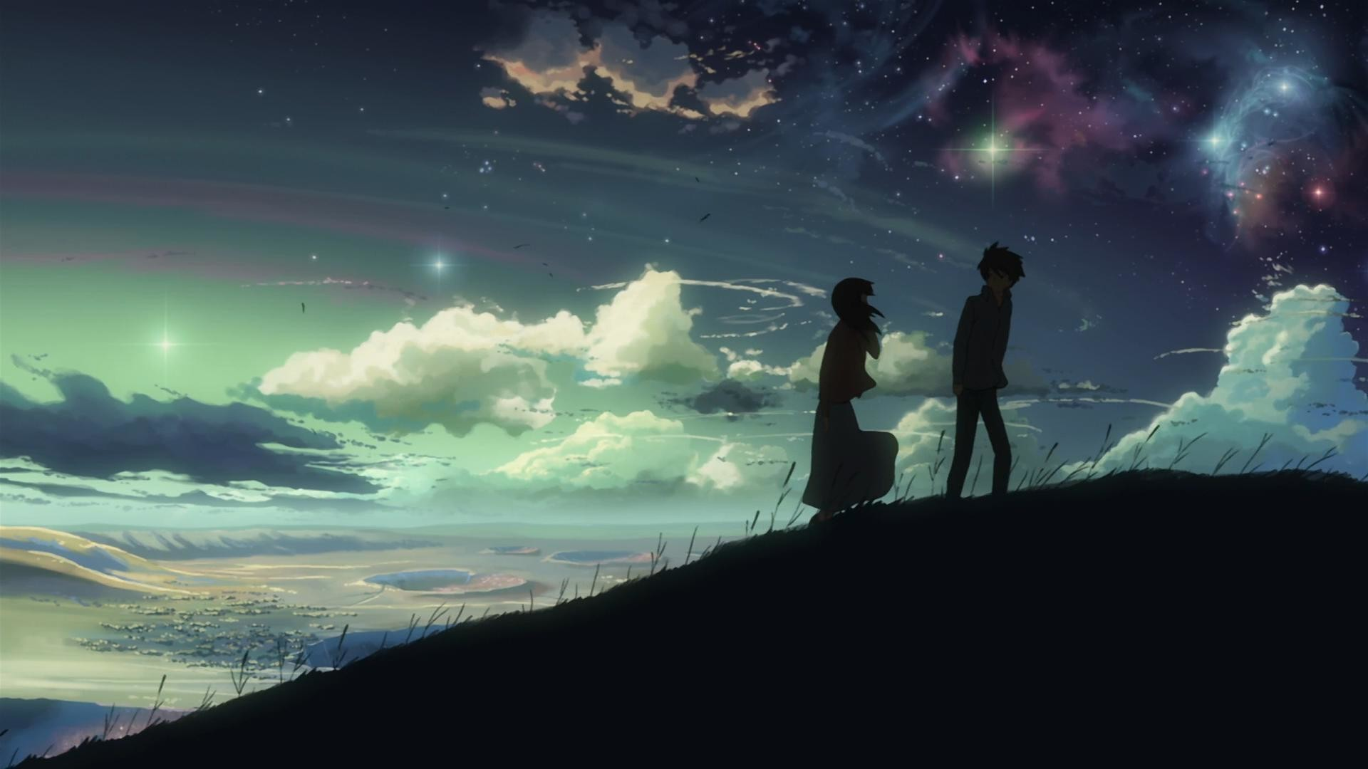Res: 1920x1080,  Anime Wallpaper: Dark Anime Scenery Wallpaper Wide with HD Wide