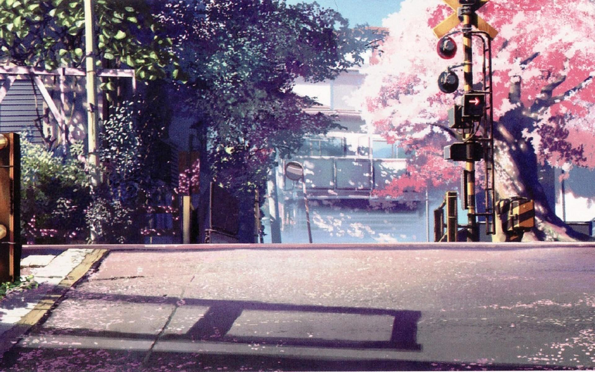 Res: 1920x1200, Anime Cherry Blossom Wallpaper Widescreen.