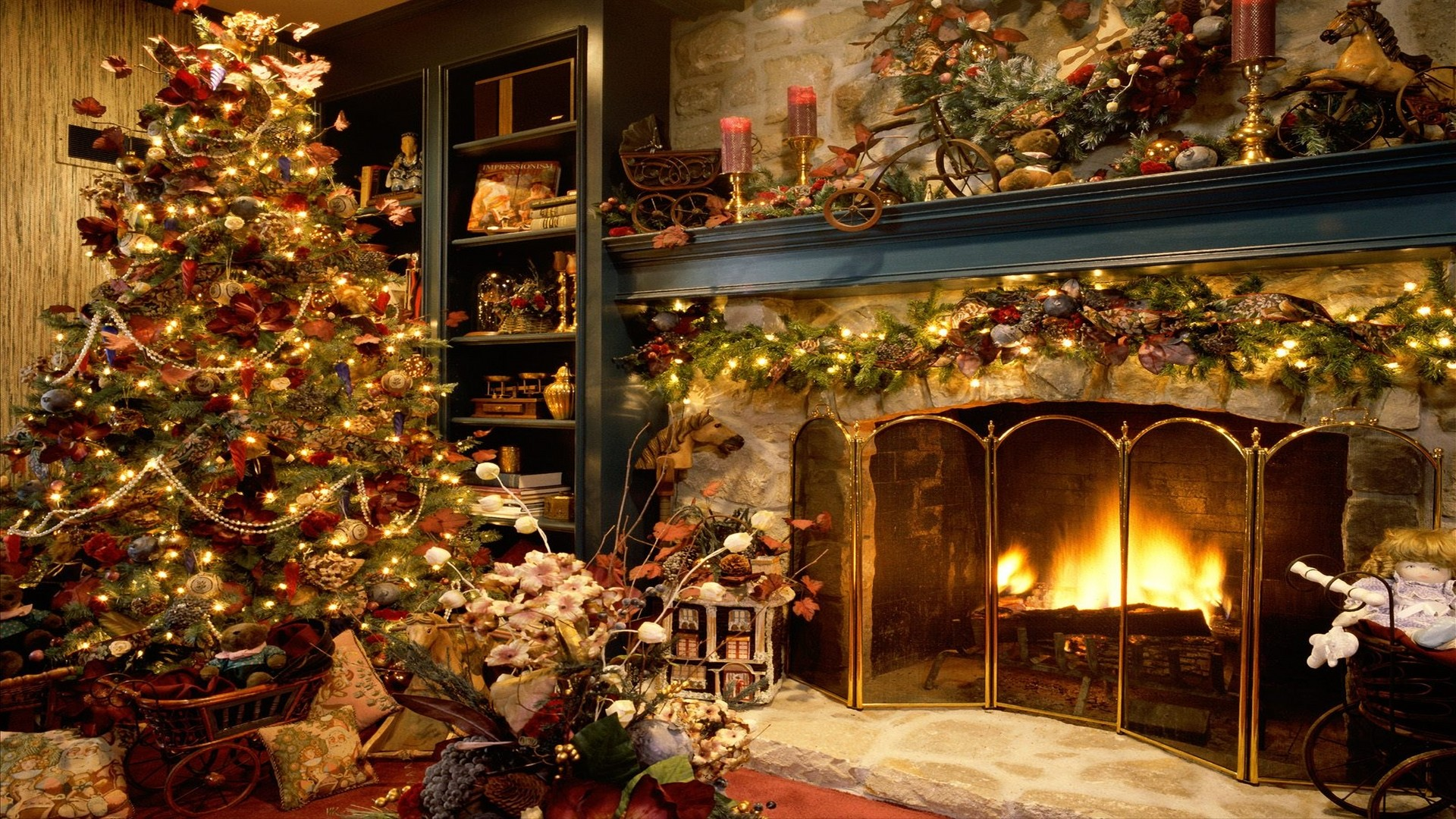 Res: 1920x1080, Download Merry Christmas HD Wallpaper ...