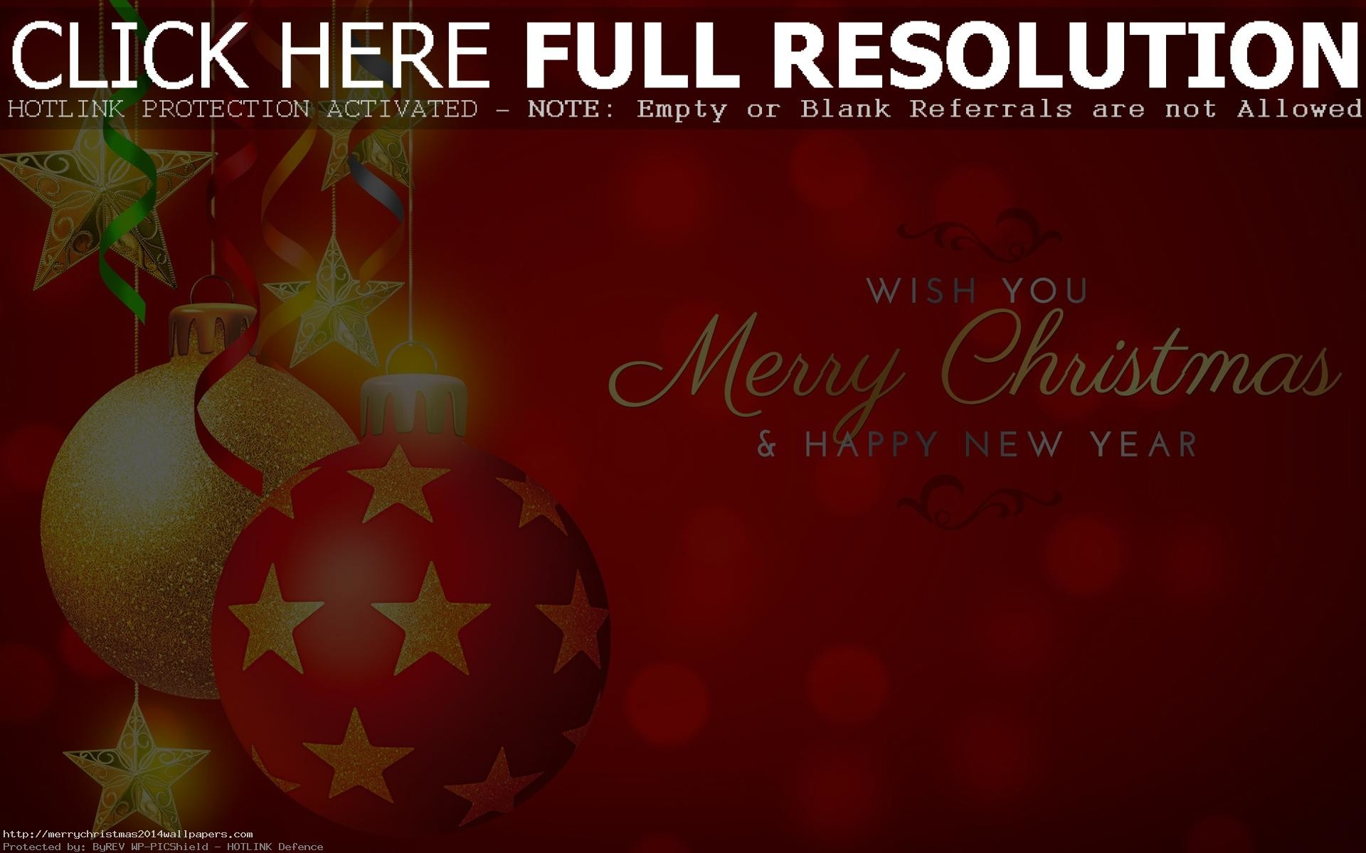 Res: 1920x1200, Merry Christmas 3D Wallpapers Free Download Merry Christmas and New Year  Wallpapers