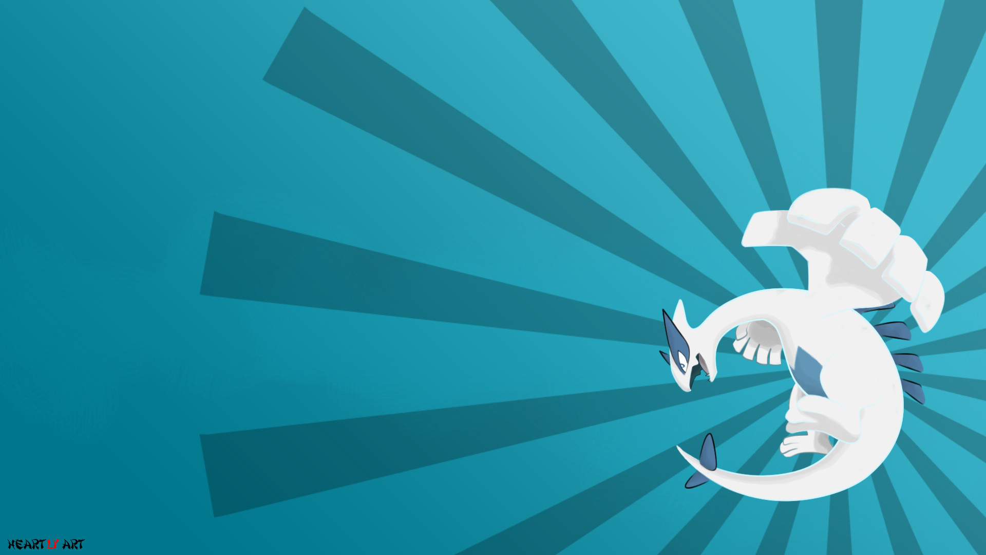 Res: 1920x1080, Lugia Wallpaper by HeartlyArt Lugia Wallpaper by HeartlyArt