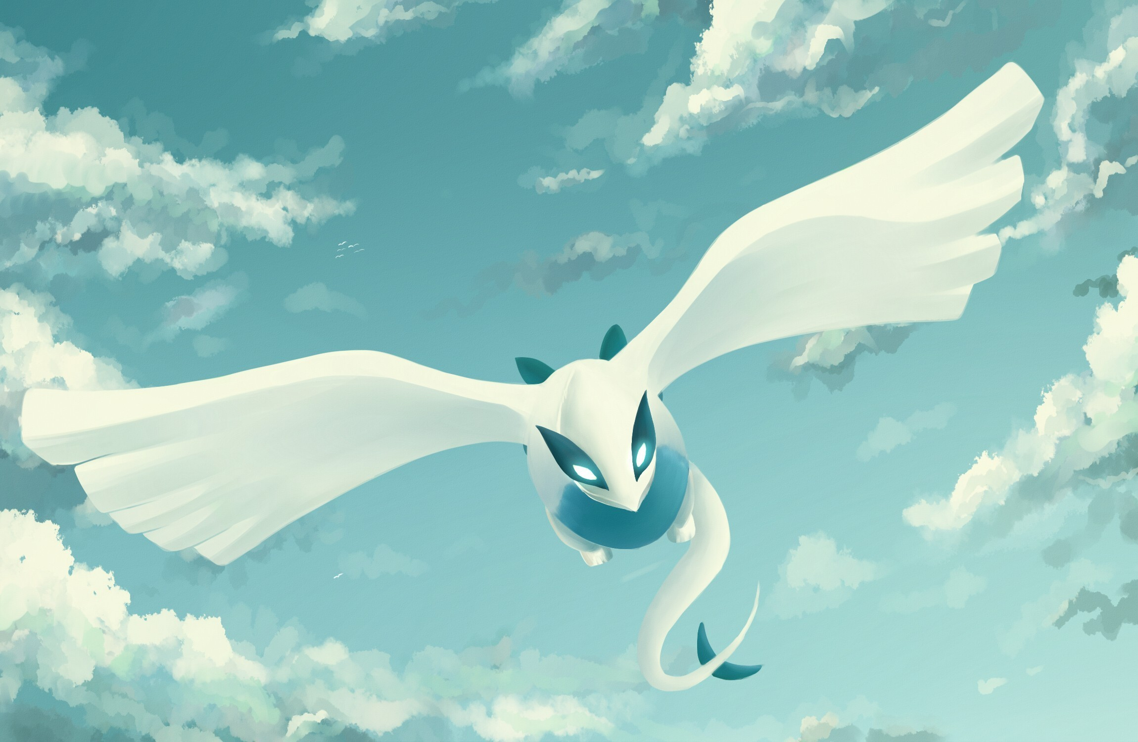 Res: 2300x1500, Pokemon Lugia Wallpapers ...