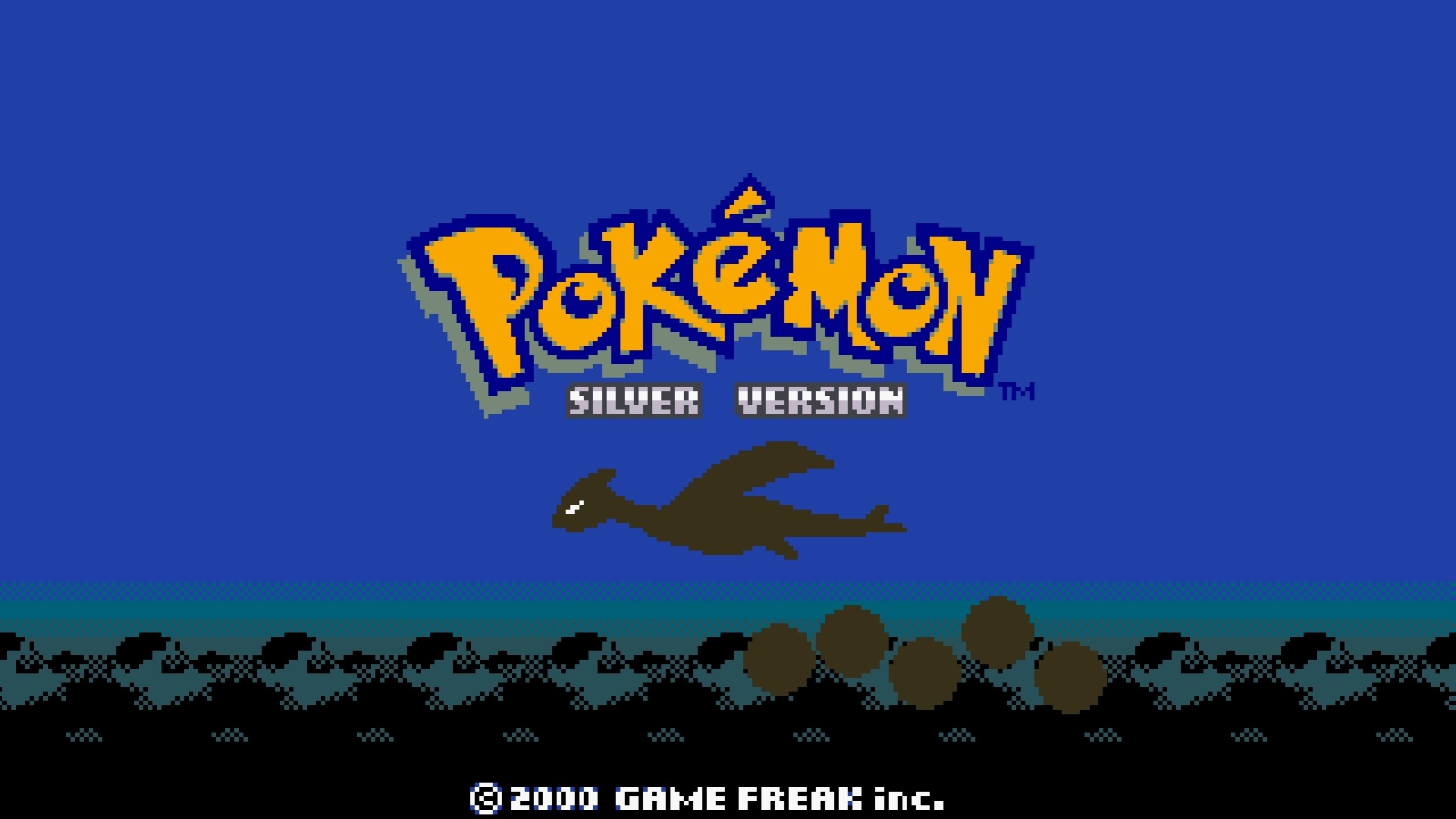 Res: 2560x1440, Wallpapers Pkemon Pokemon Video Games Silver Gameboy Lugia Sprites .