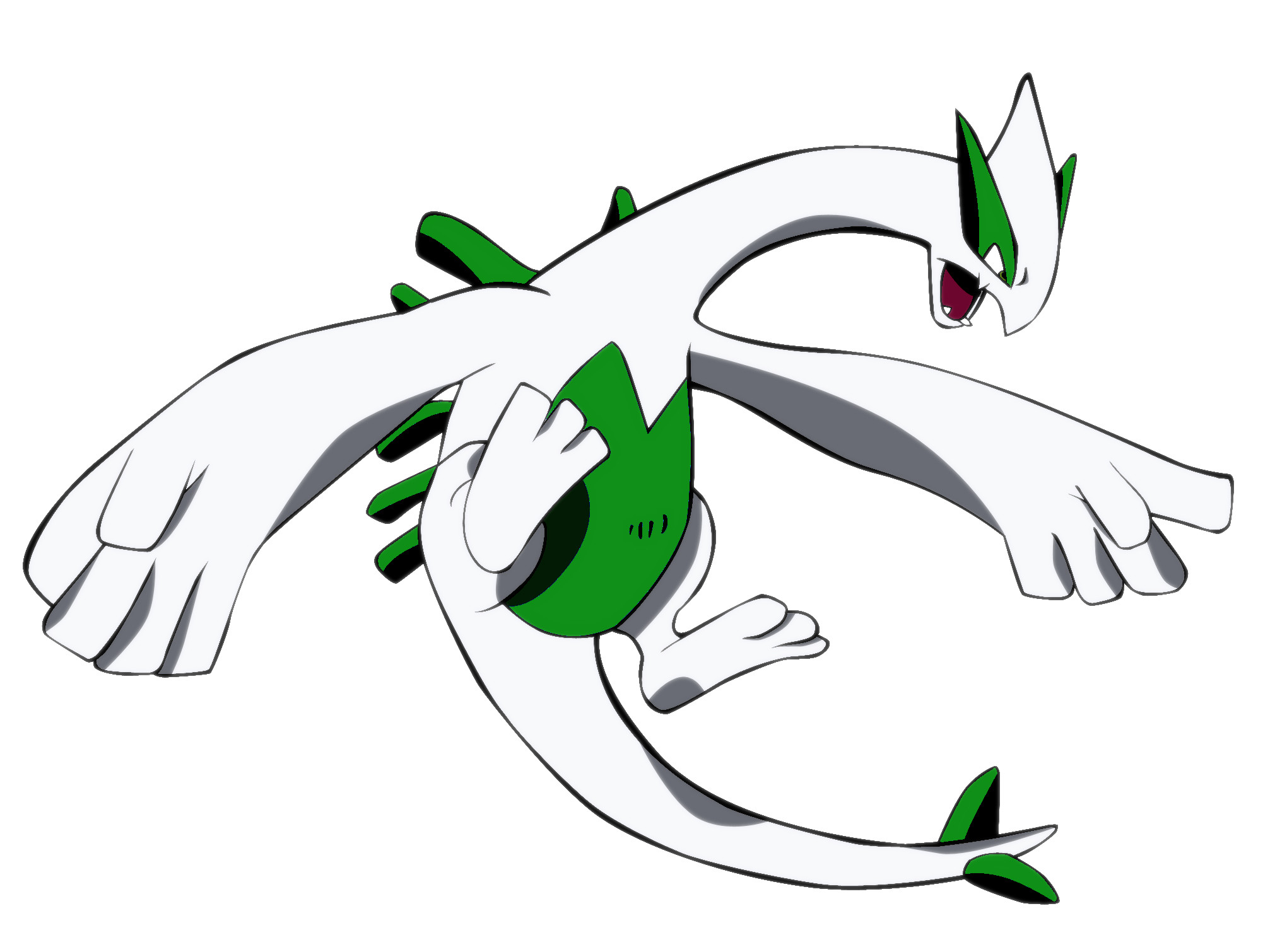 Res: 2040x1510, Lugia images Shiny green Lugia HD wallpaper and background photos