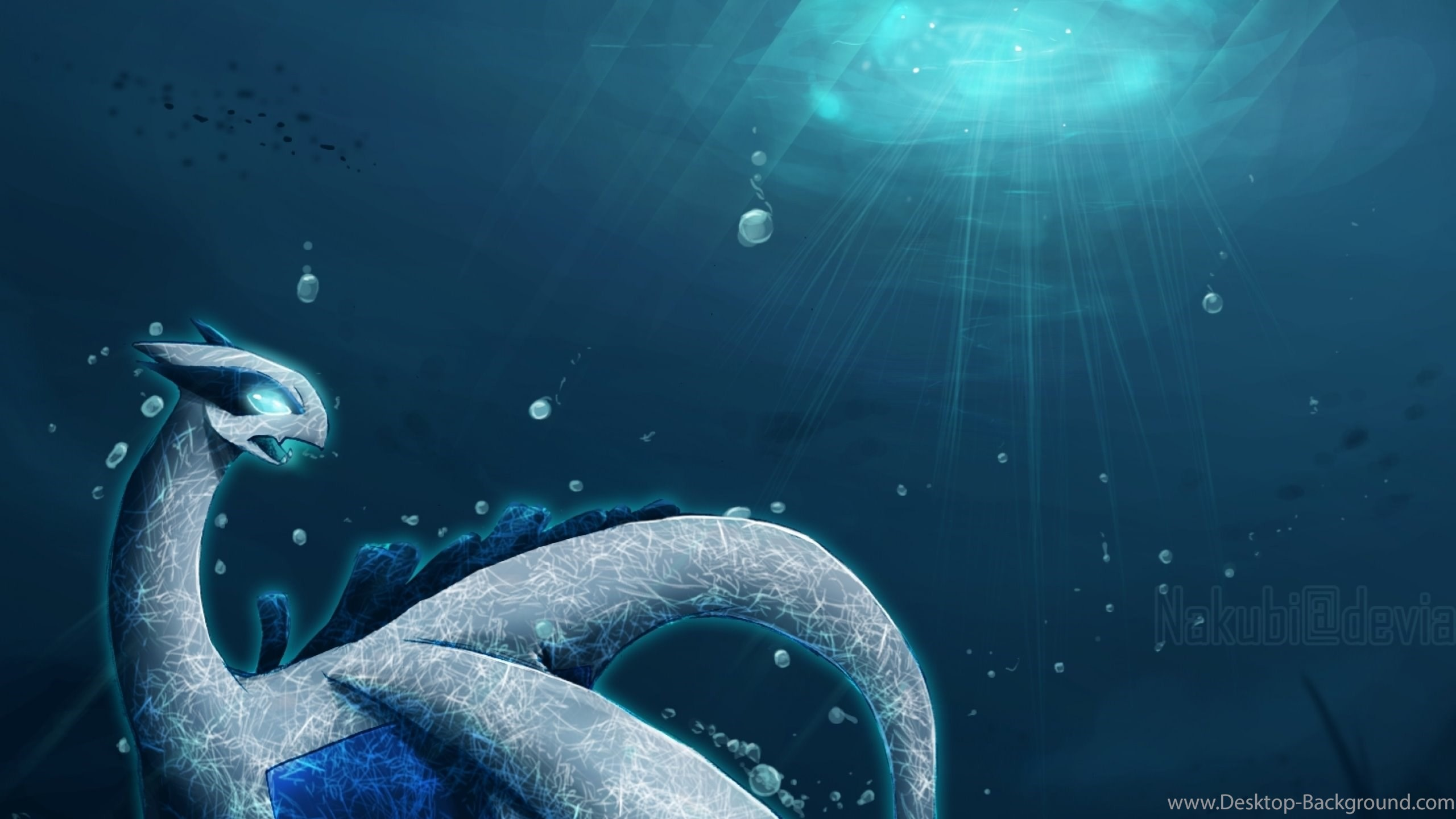 Res: 2560x1440, Lugia Wallpaper Source · Download Wallpapers Download 2560x1600 Pokemon  Lugia Soul Silver