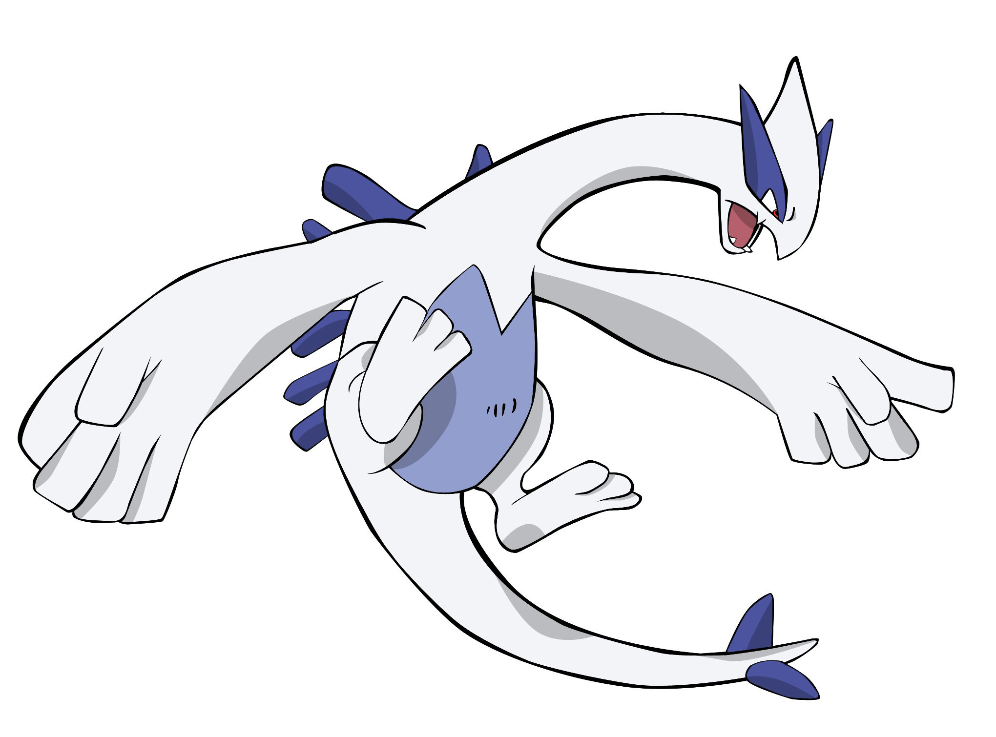 Res: 2040x1510, Pokemon Lugia by Sonic-Gal007 ...
