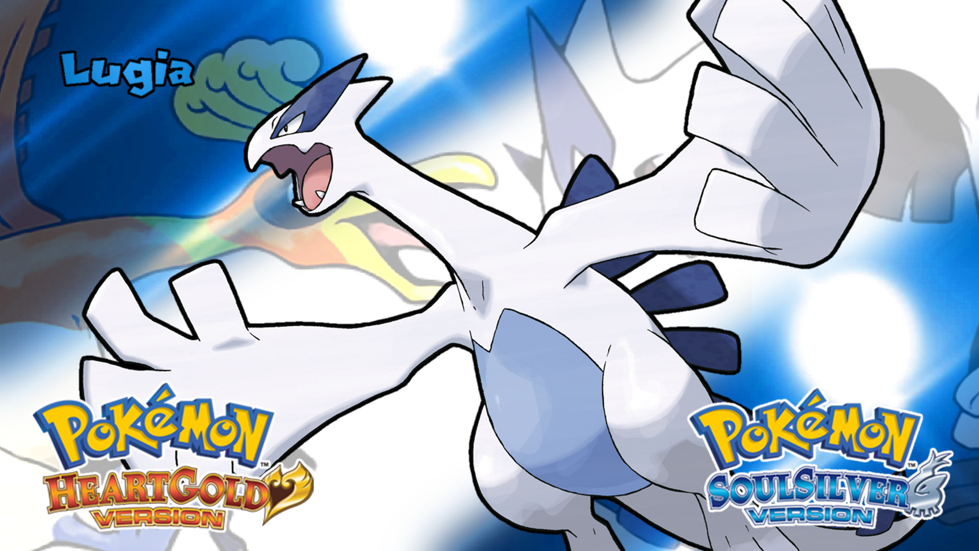 Res: 1920x1080, ... Pokemon HGSS- Lugia Wallpaper by MattPlaysVG