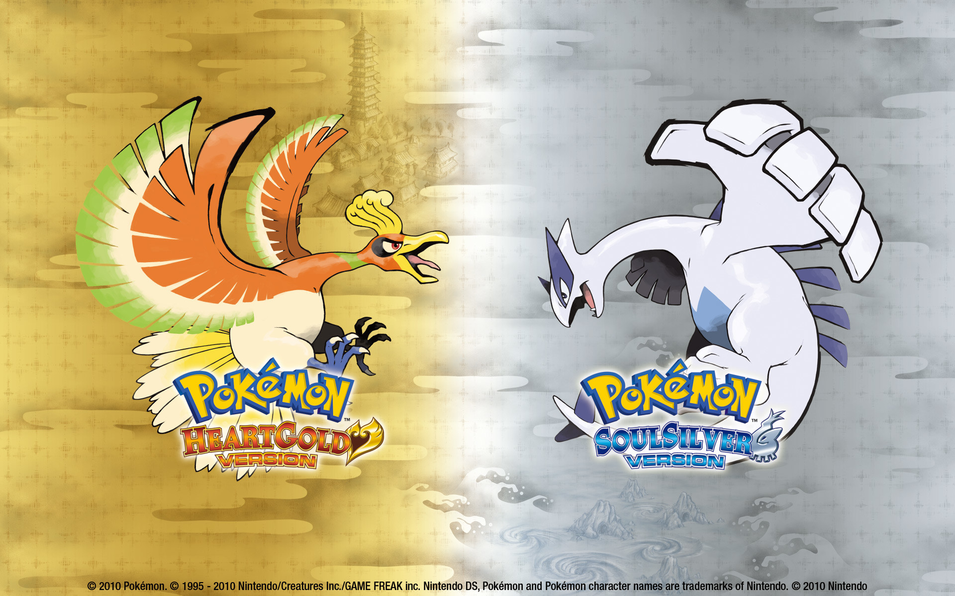 Res: 1920x1200, Picture Collection: XXU.531 Ho Oh And Lugia Pictures, ModaFinilsale