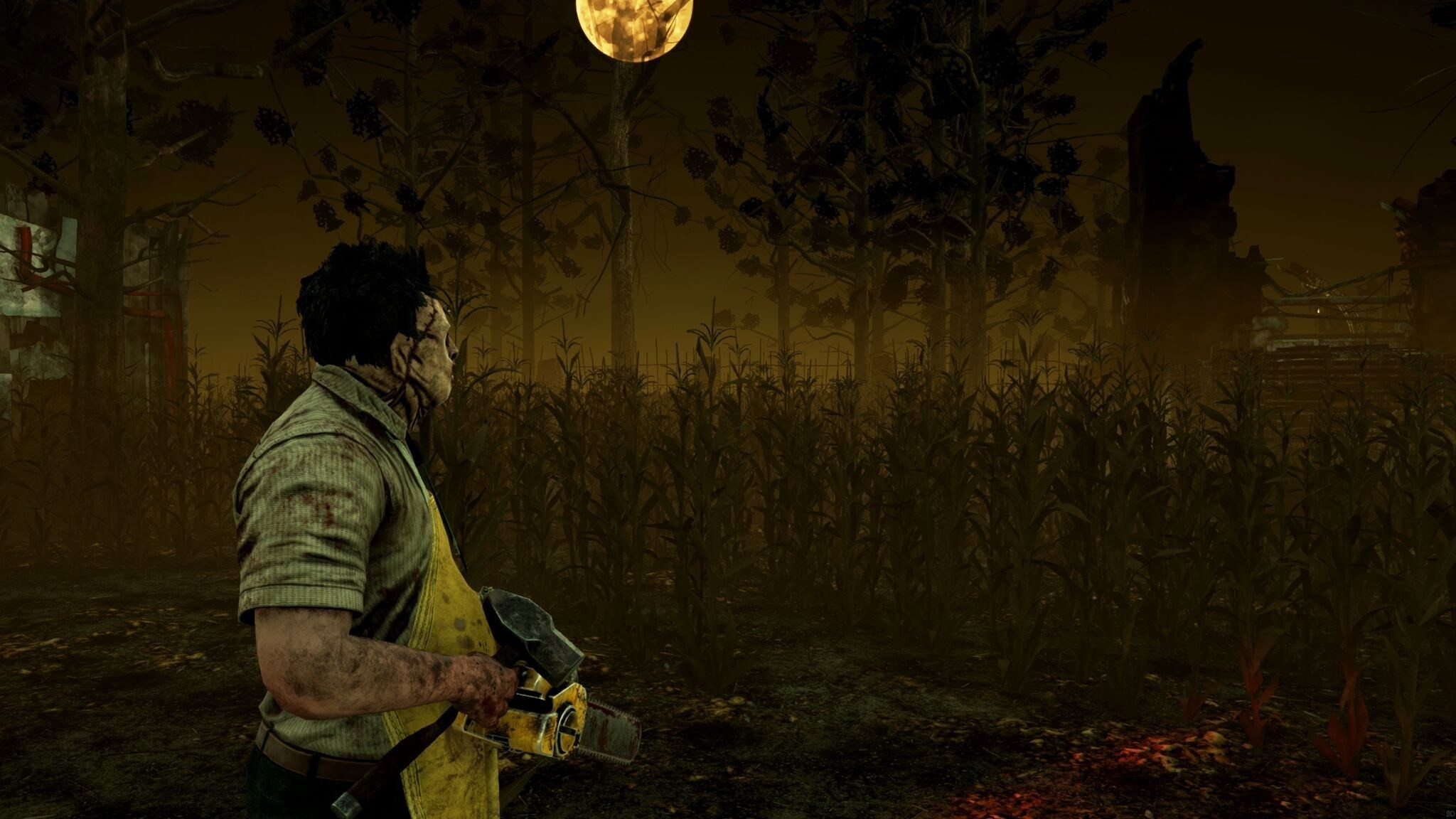 Res: 2048x1152, Mobile HD Source · Exclusive Leatherface Joins Slasher Game Dead by  Daylight TODAY
