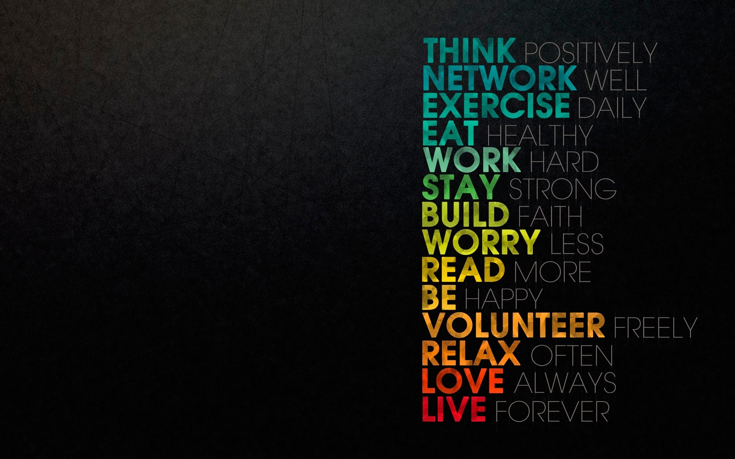 Res: 2560x1600, HD Wallpaper | Background Image ID:251038.  Misc Motivational