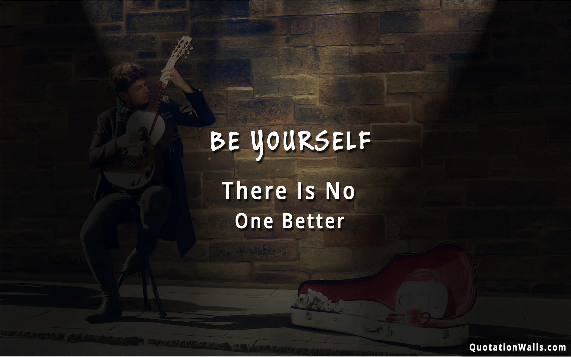 Res: 1920x1200, Be Yourself Wallpaper For Desktop