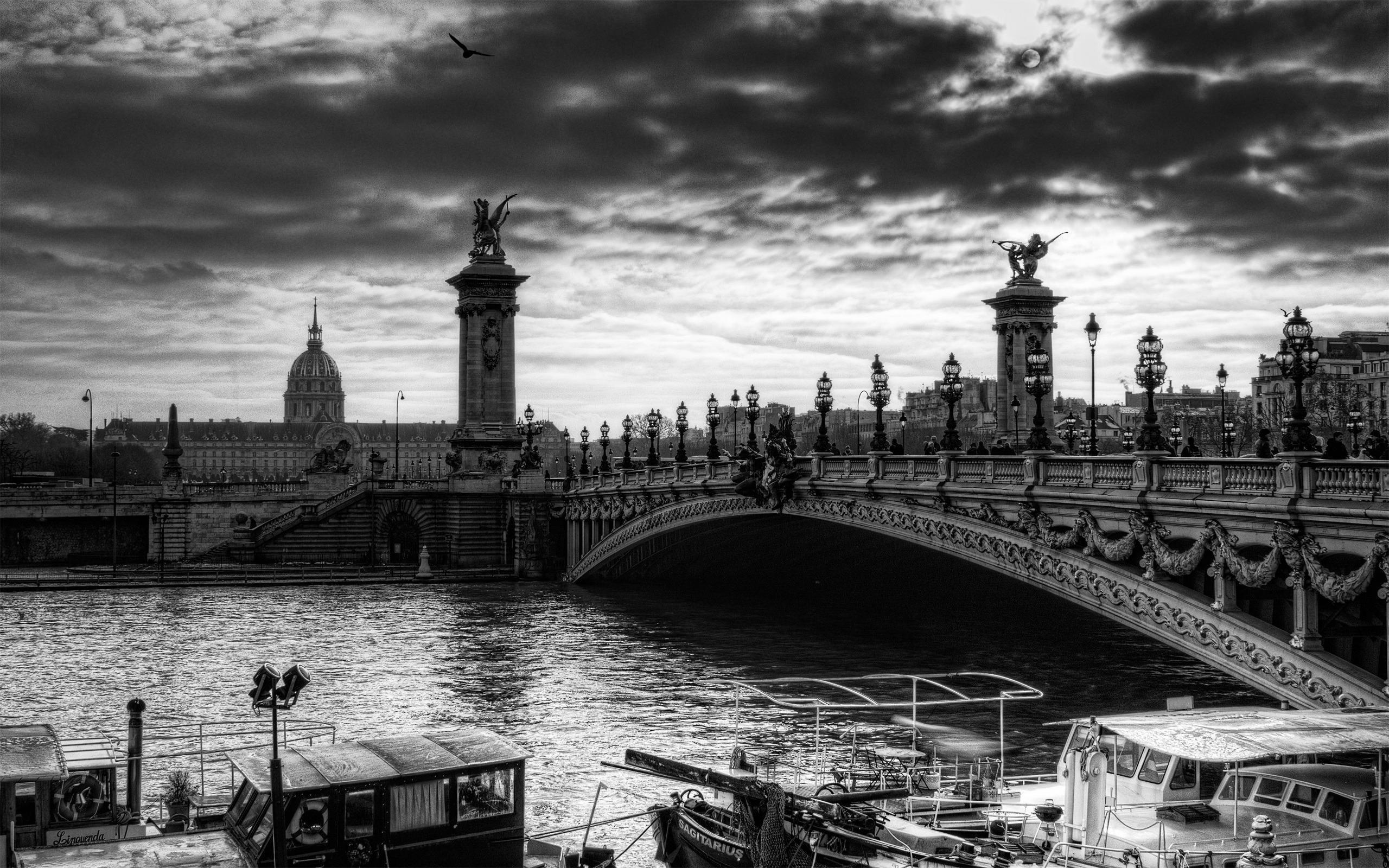 Res: 2560x1600, France Paris Architecture River Hay City Tne Citygray. architectural  designer salary. architectural design.