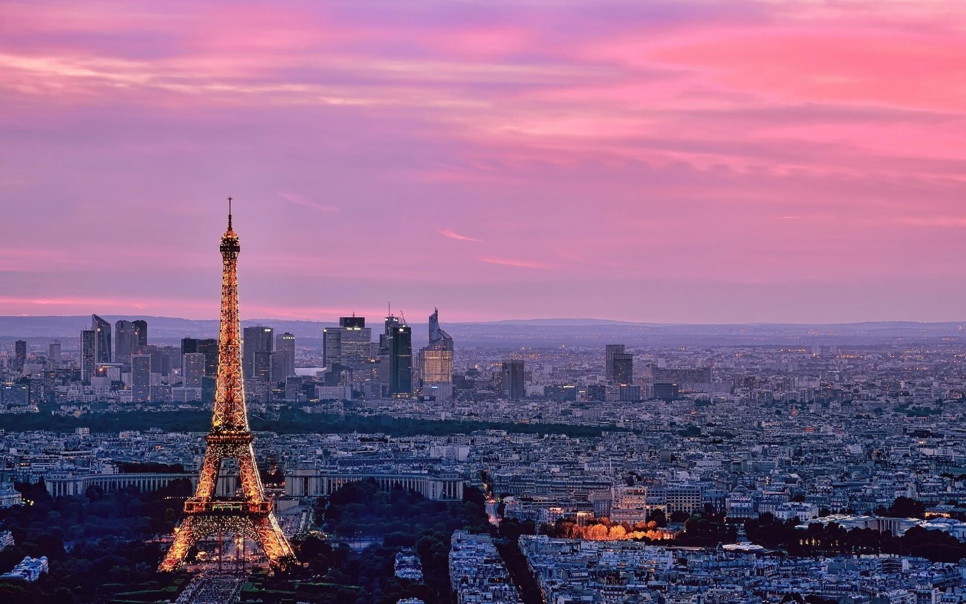 Res: 1920x1200, Pink Paris. Wallpaper: Pink Paris