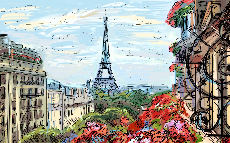 Res: 2880x1800,  HD Wallpaper   Hintergrund ID:689055.  Menschengemacht  Paris