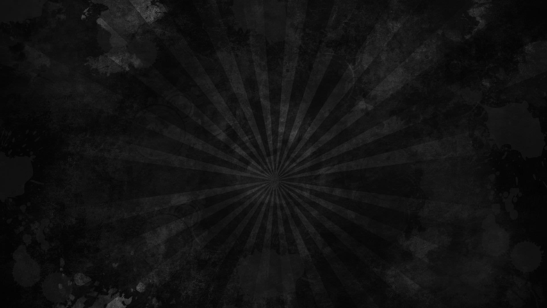 Res: 1920x1080, Black Grunge Sunburst Wallpaper