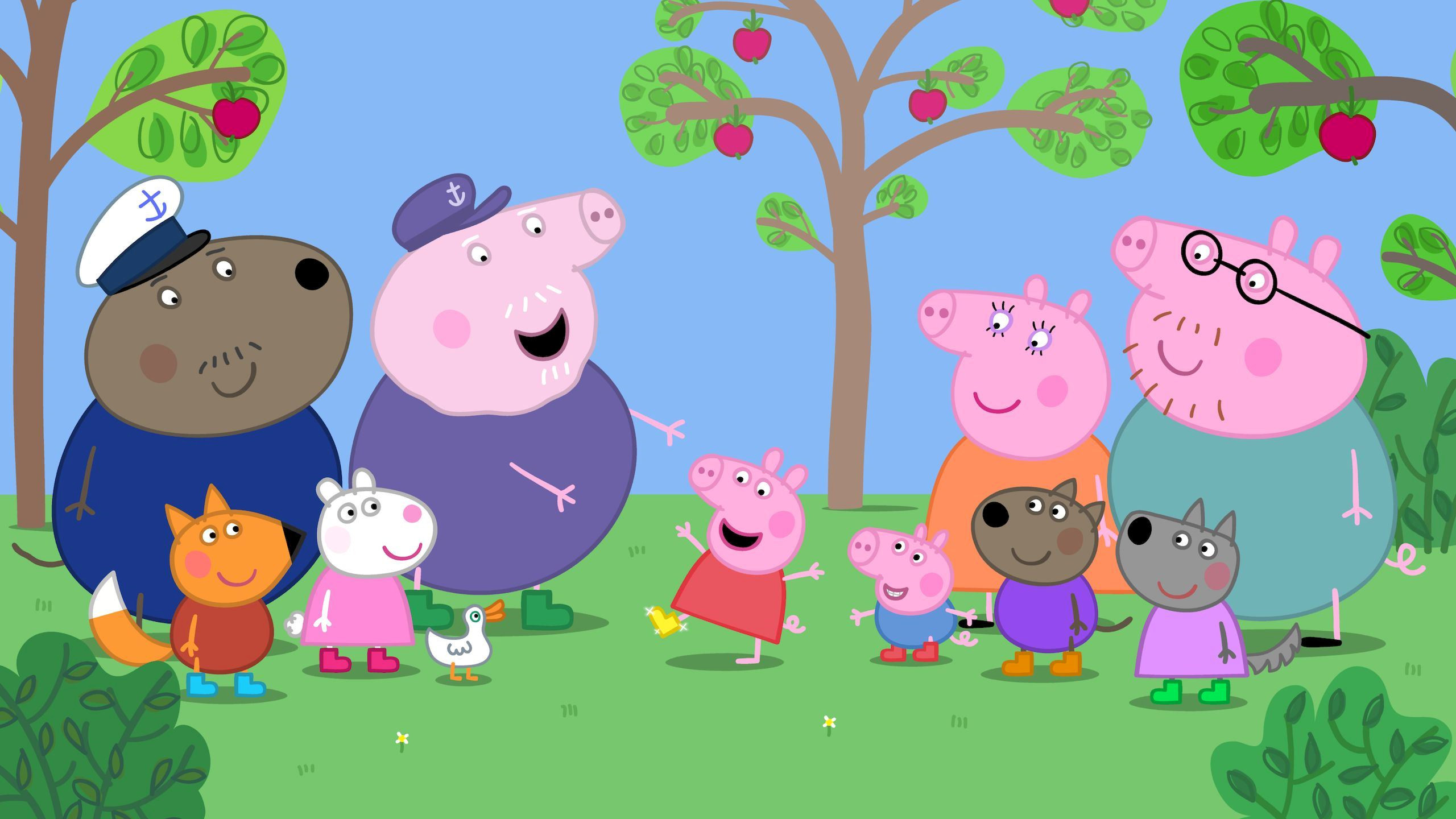 Res: 2560x1440, Peppa Pig Wallpapers 5 - 2560 X 1440
