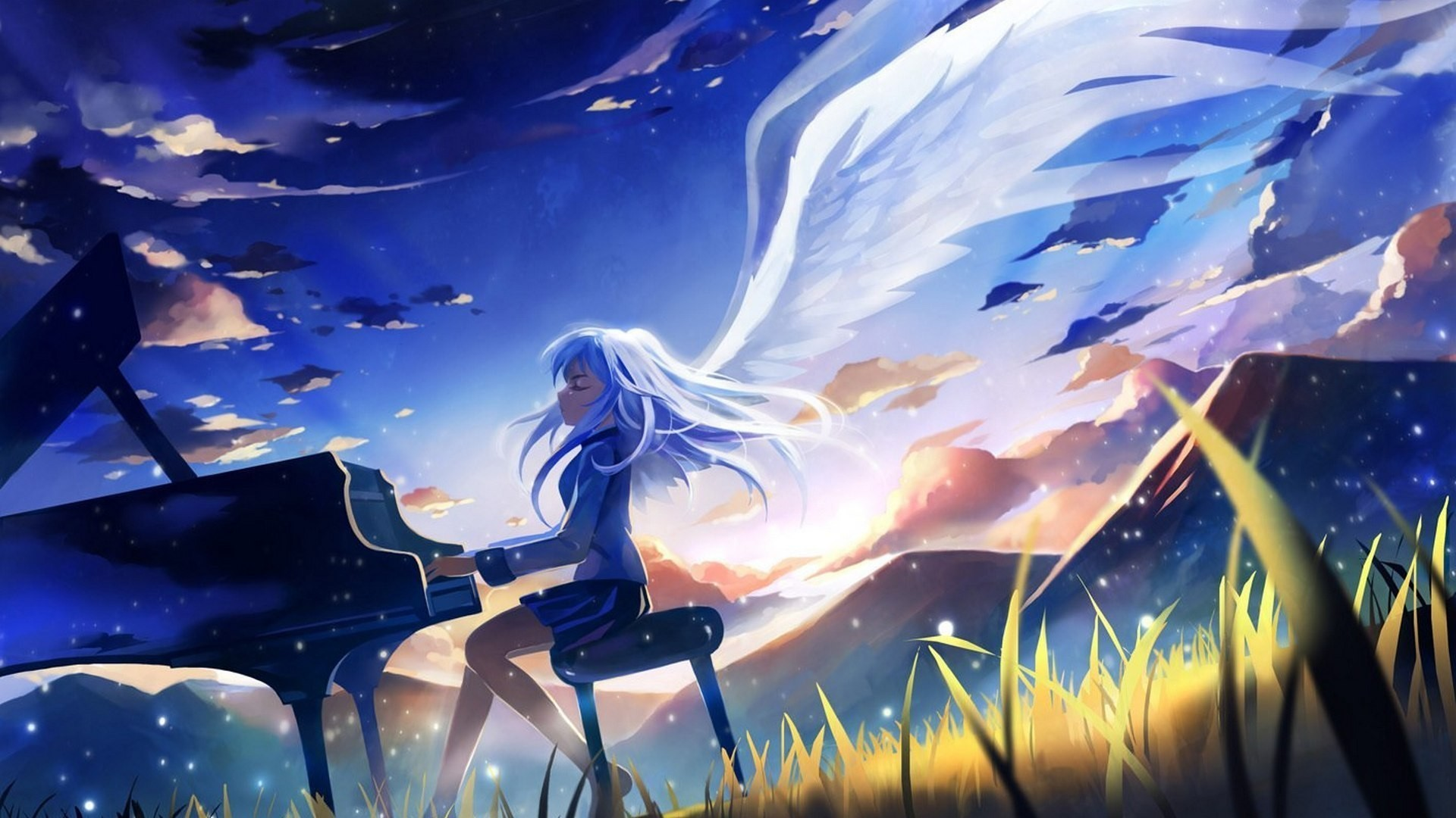 Res: 1920x1080, Anime Music Wallpaper Widescreen