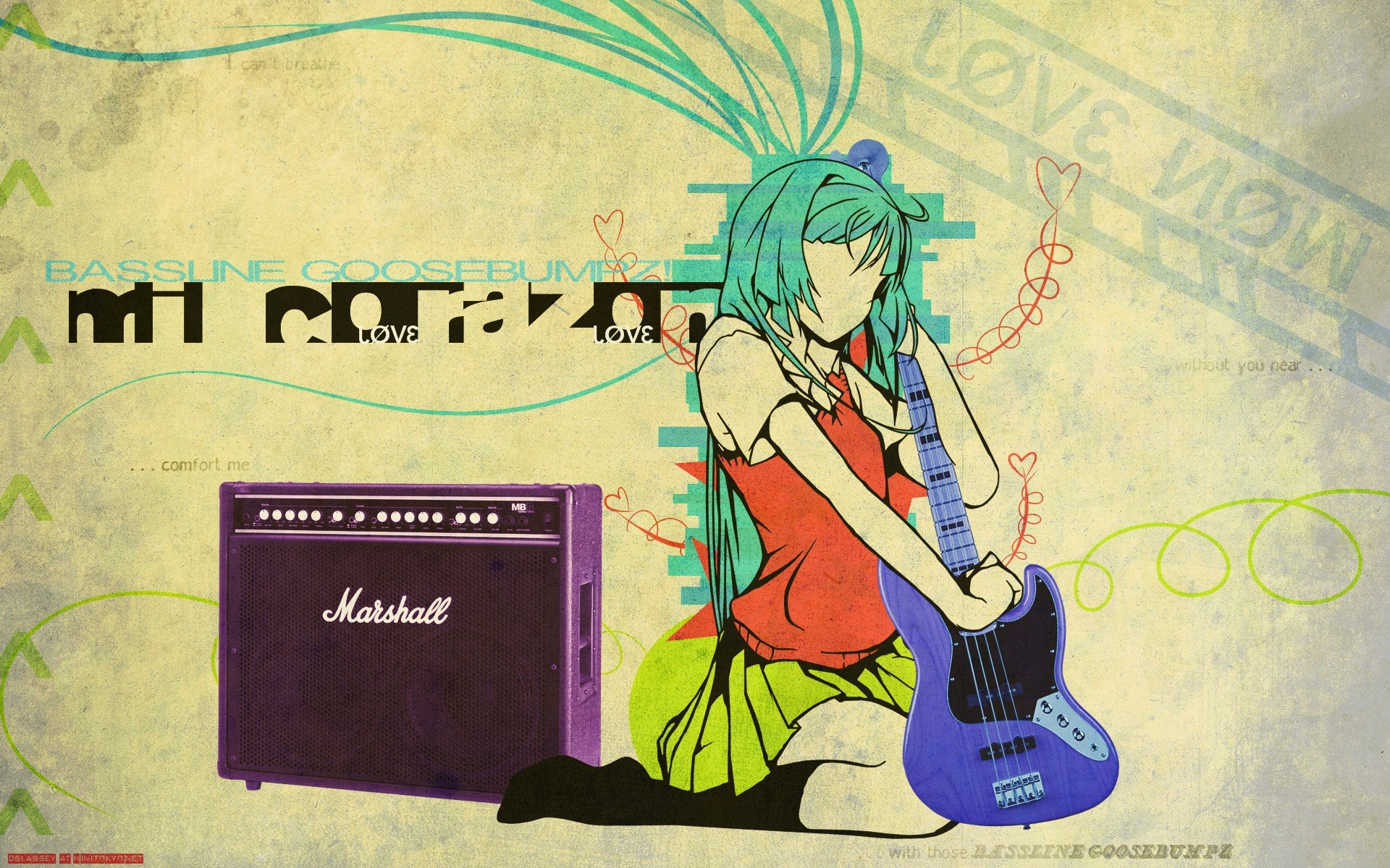 Res: 1920x1200, Anime - Music Wallpaper