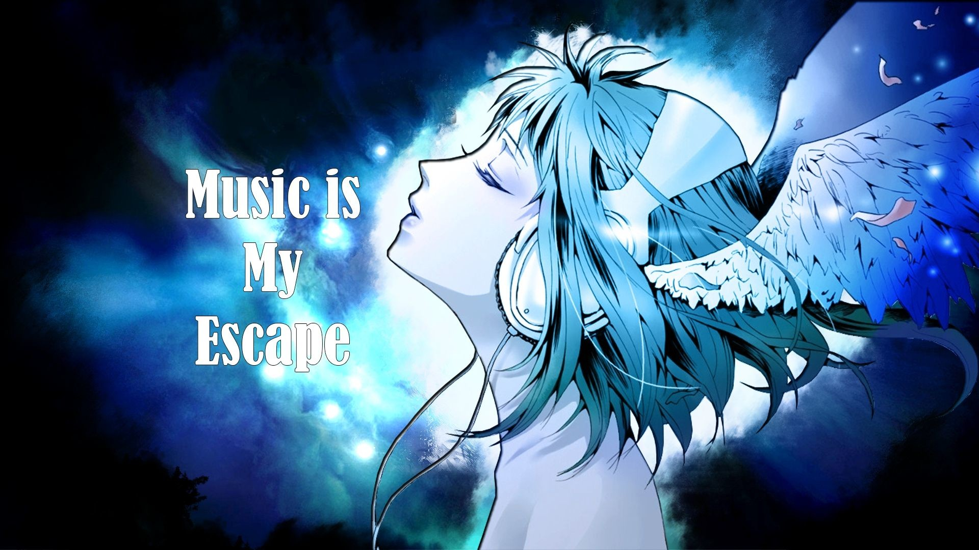 Res: 1920x1080, Music Is My Escape Hd Desktop Background Wallpapers Free px