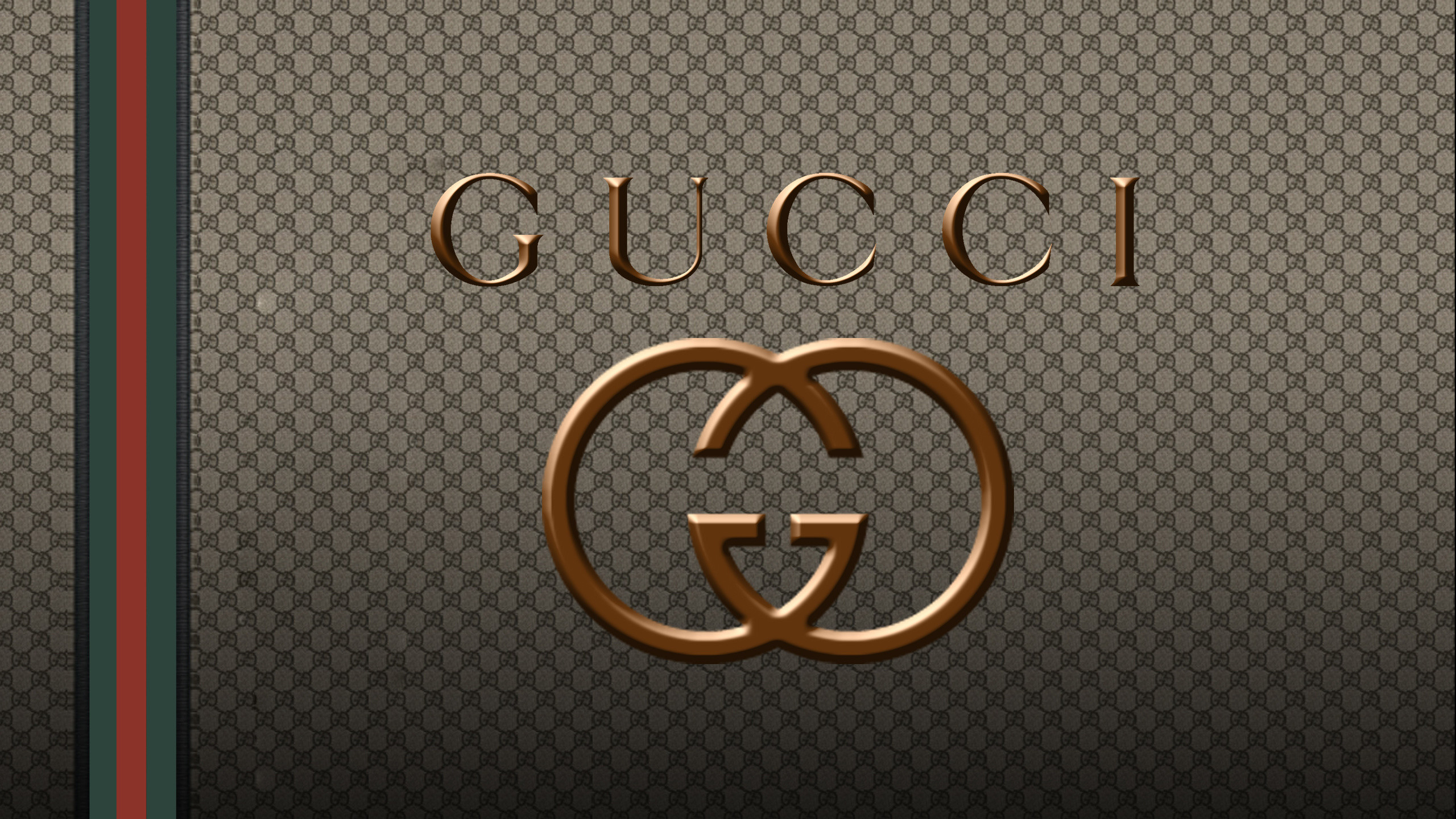 Res: 2560x1440, Logo, Fashion Brands, Brand Gucci Logo Wallpapers and Pictures, Photos