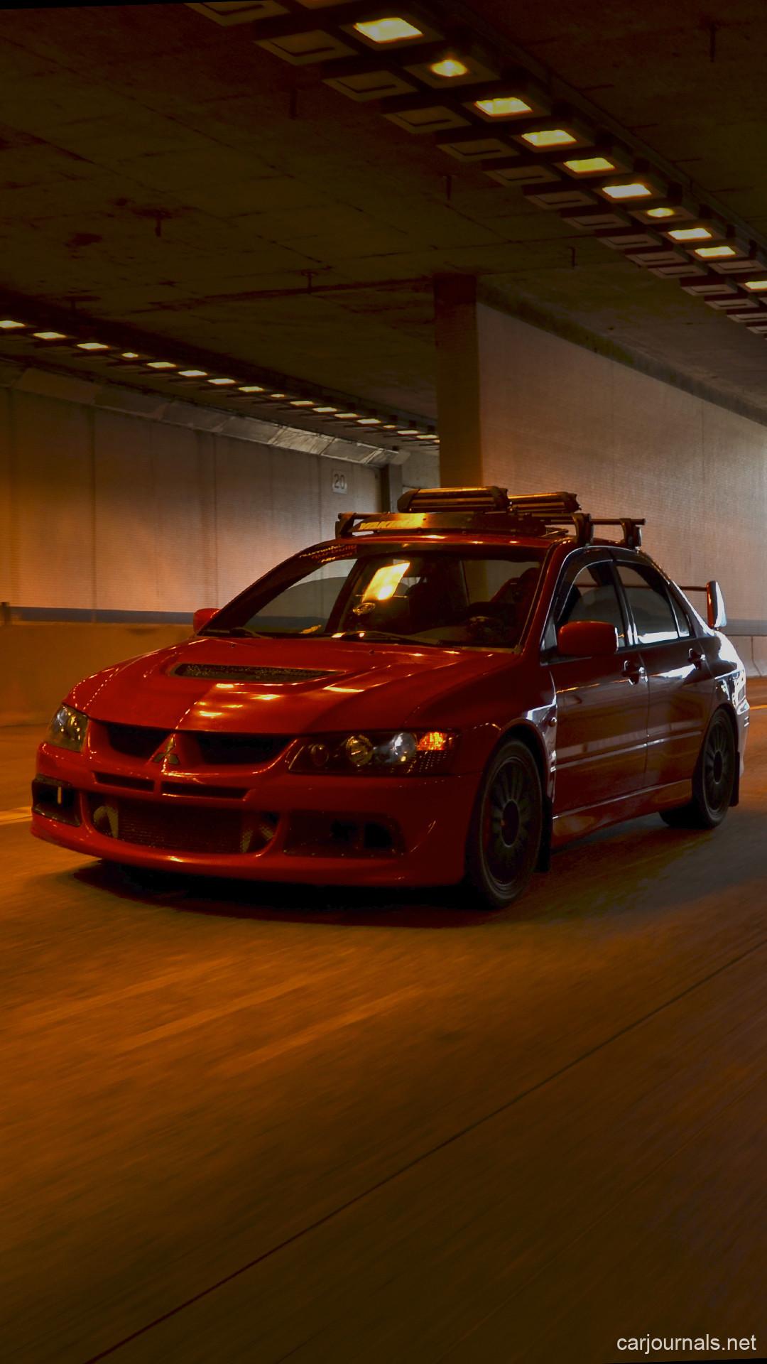 Res: 1080x1920, Mitsubishi Evo VIII iPhone Wallpaper - Car journals