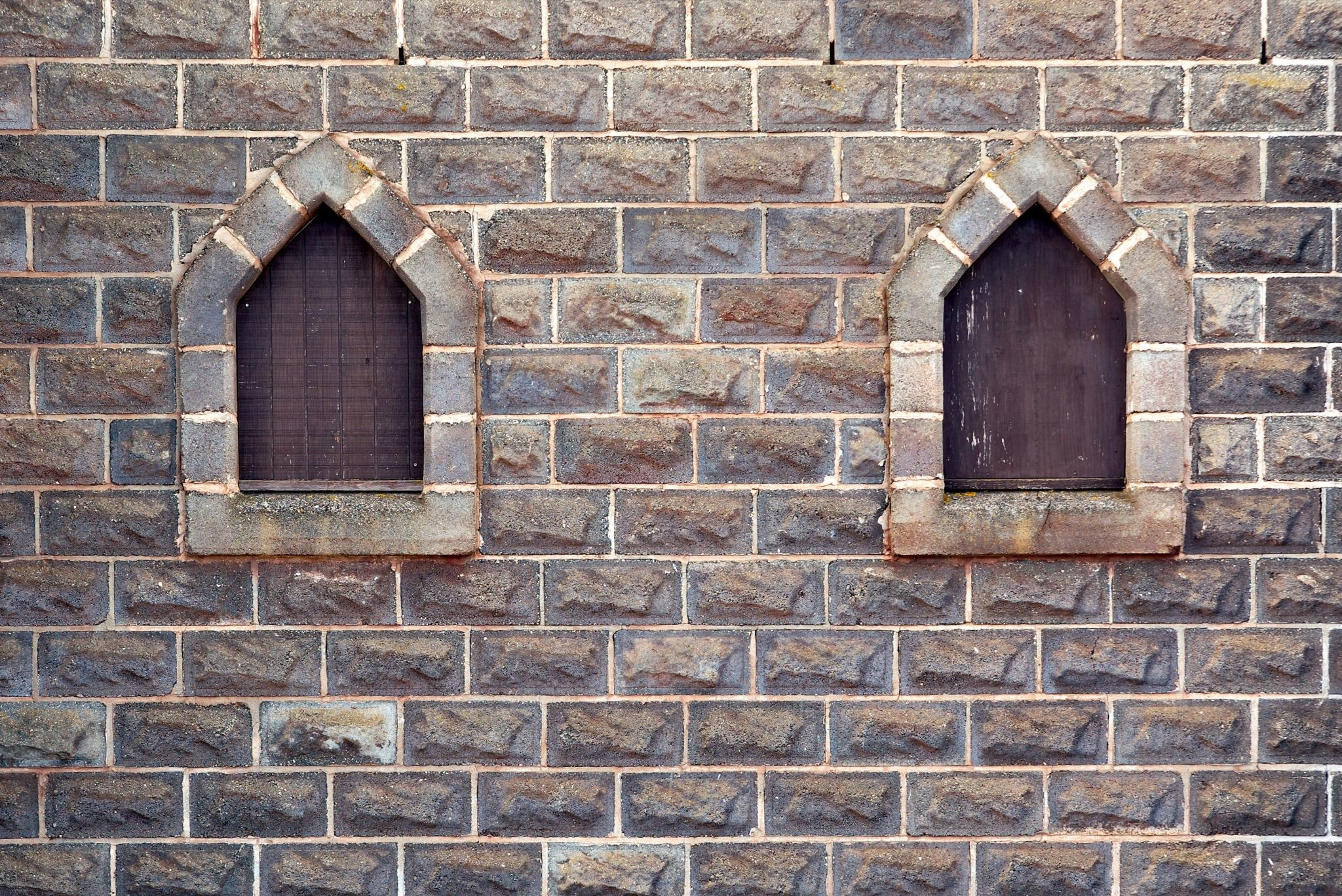 Res: 2048x1368, free castle windows in stone brick wall background photo Stone Brick Wall  of a castle with two wooden boarded windows